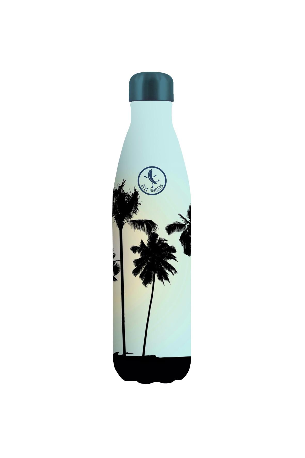 Butelka ze stali nierdzewnej o podwójnych ściankach - Palmy 500ml
