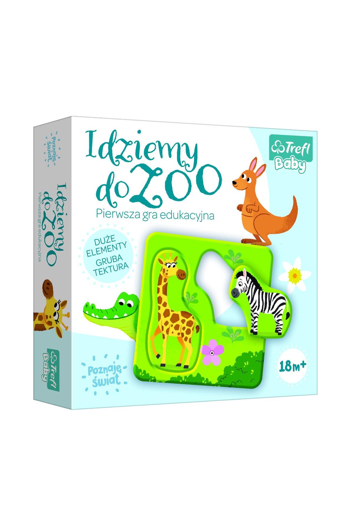 Gra dla dzieci - Idziemy do Zoo wiek 18m+