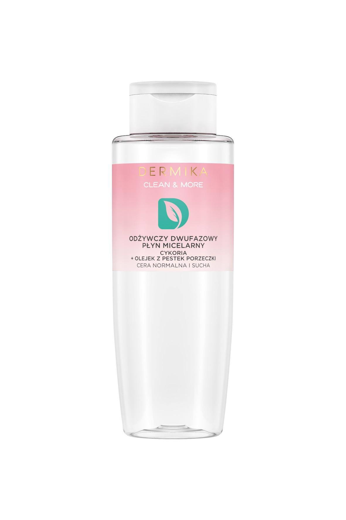 DERMIKA CLEAN&MORE Płyn micelarny dwufazowy - 400 ml