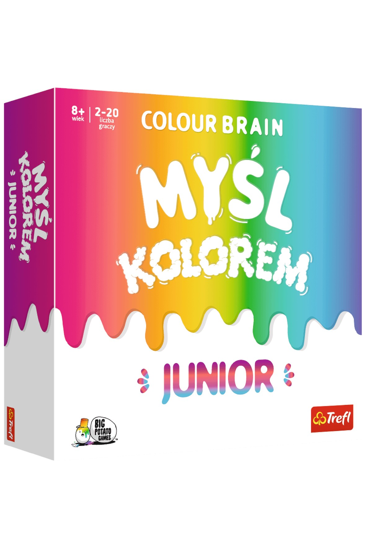 Gra karciana Colour Brain Junior/Big Potato Colour Brain