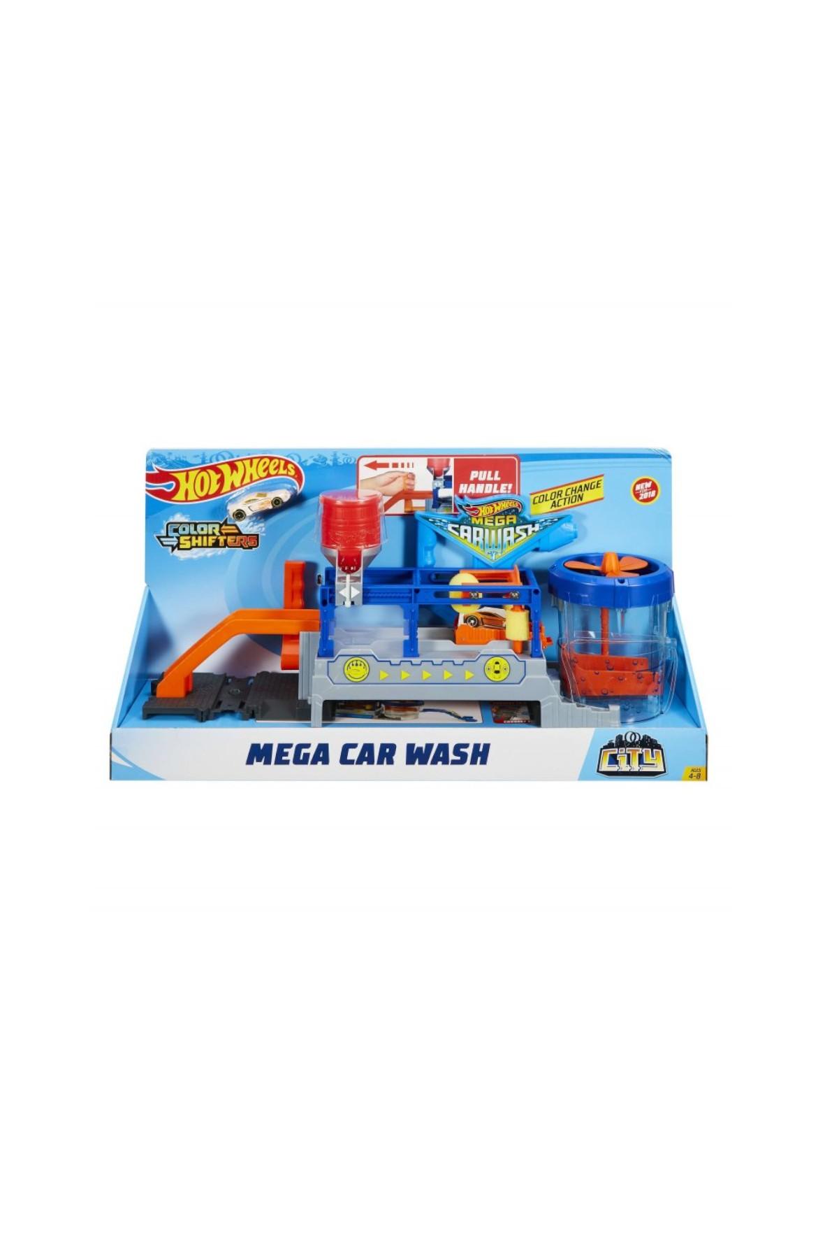 Hot Wheels City SuperMyjnia Color Shifters wiek 4+