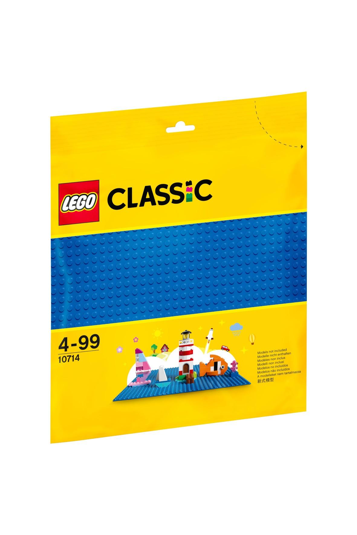 LEGO® Niebieska płytka konstrukcyjna - wiek 4+