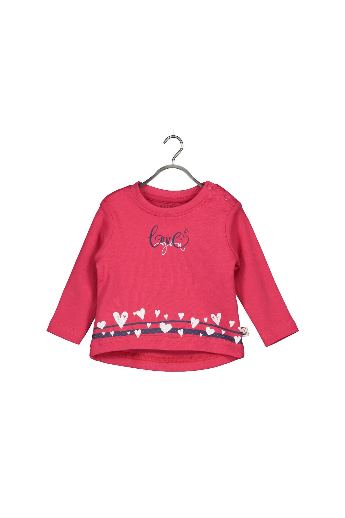 Bluzka niemowlęca- czerwona Love You