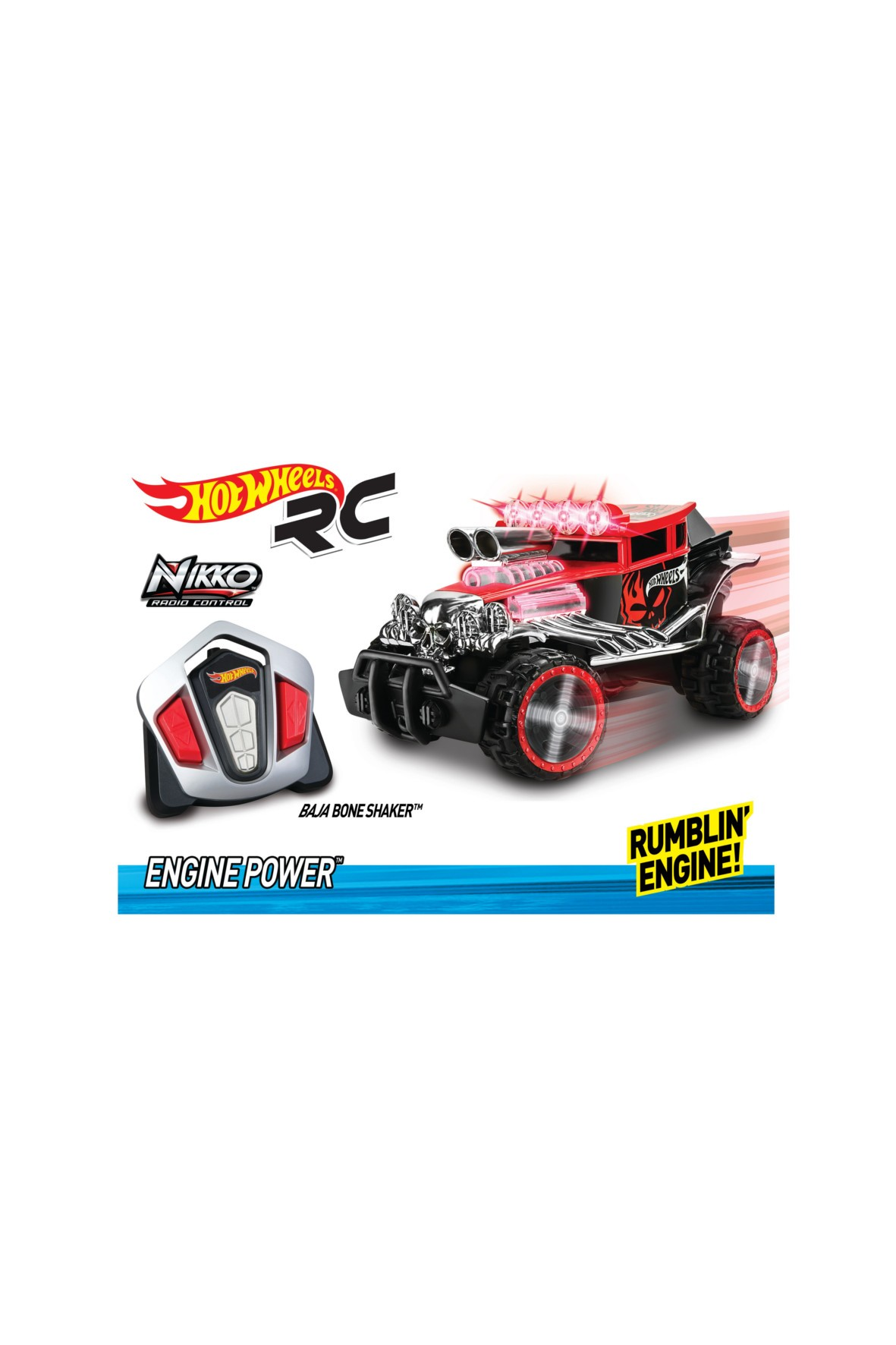Hot Wheels- BAJA BONE SHAKER