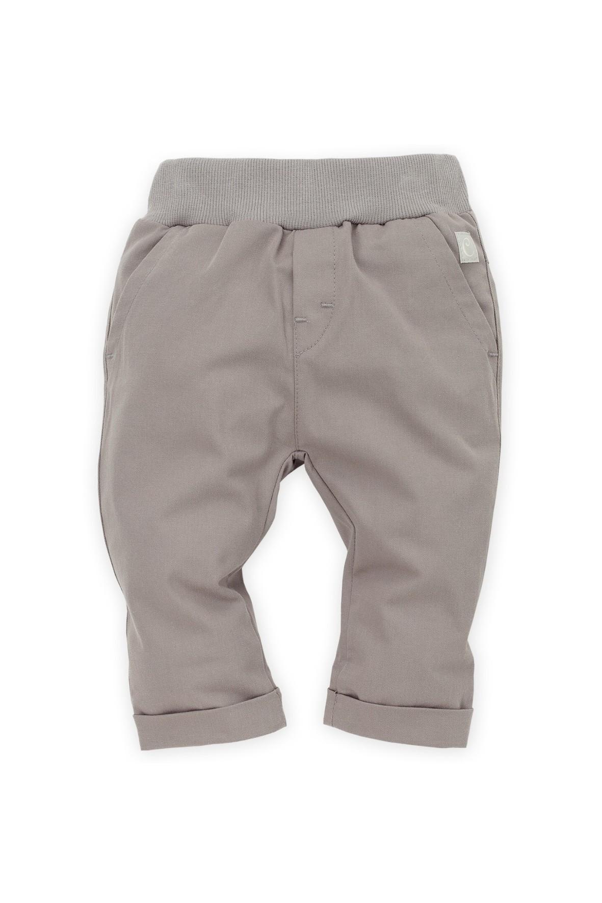 Spodnie niemowlęce tkaninowe