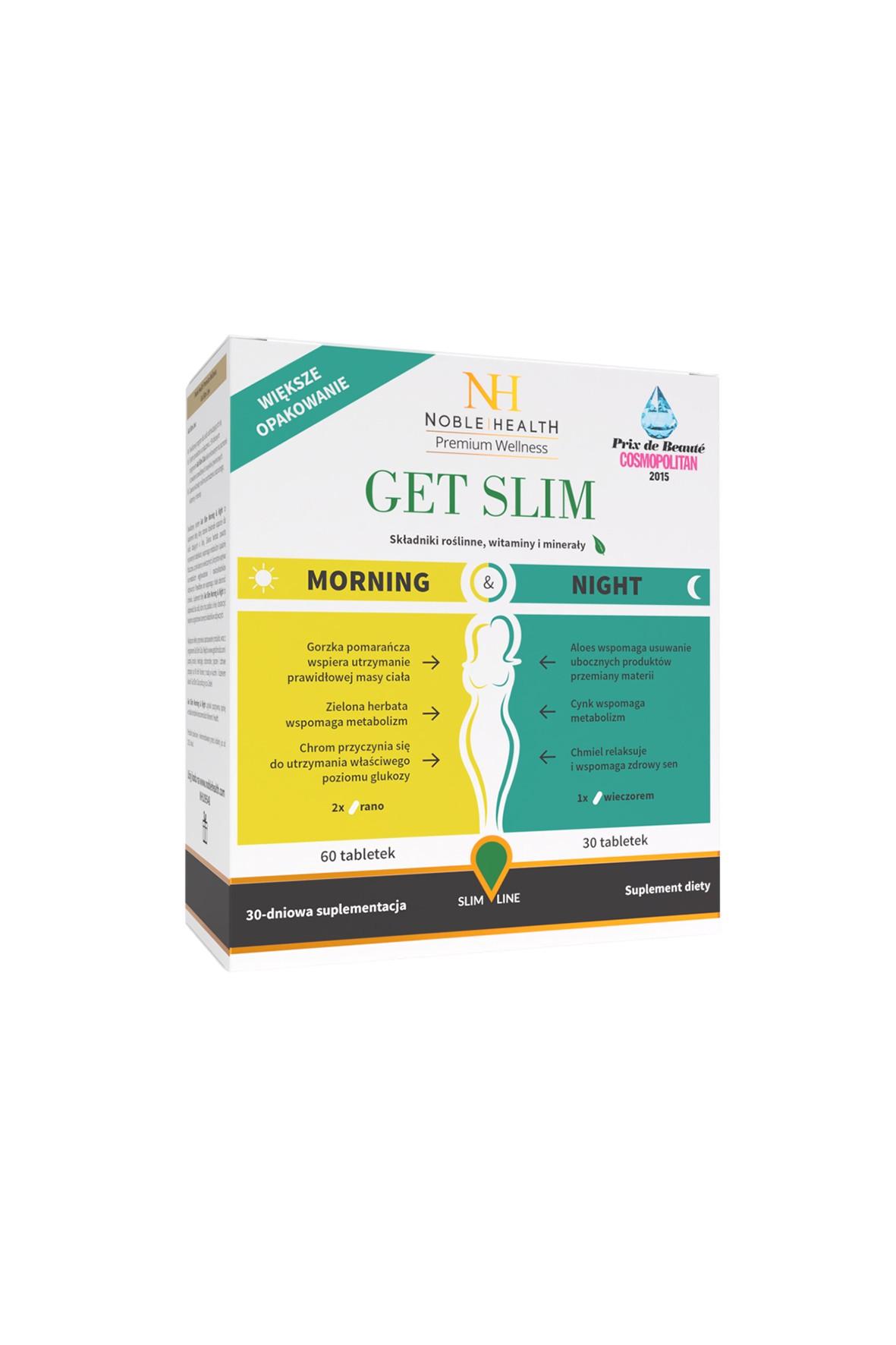 Get Slim Morning&Night suplement diety 90 tabletek