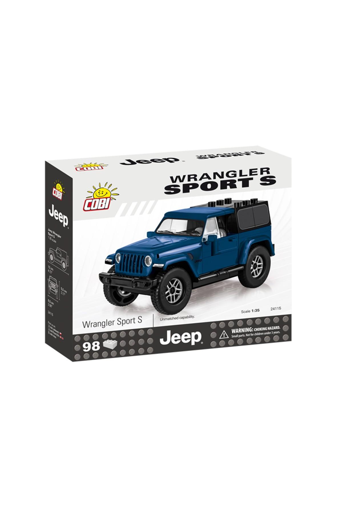 Klocki COBI Jeep Wrangler Sport S-98el w zestawie