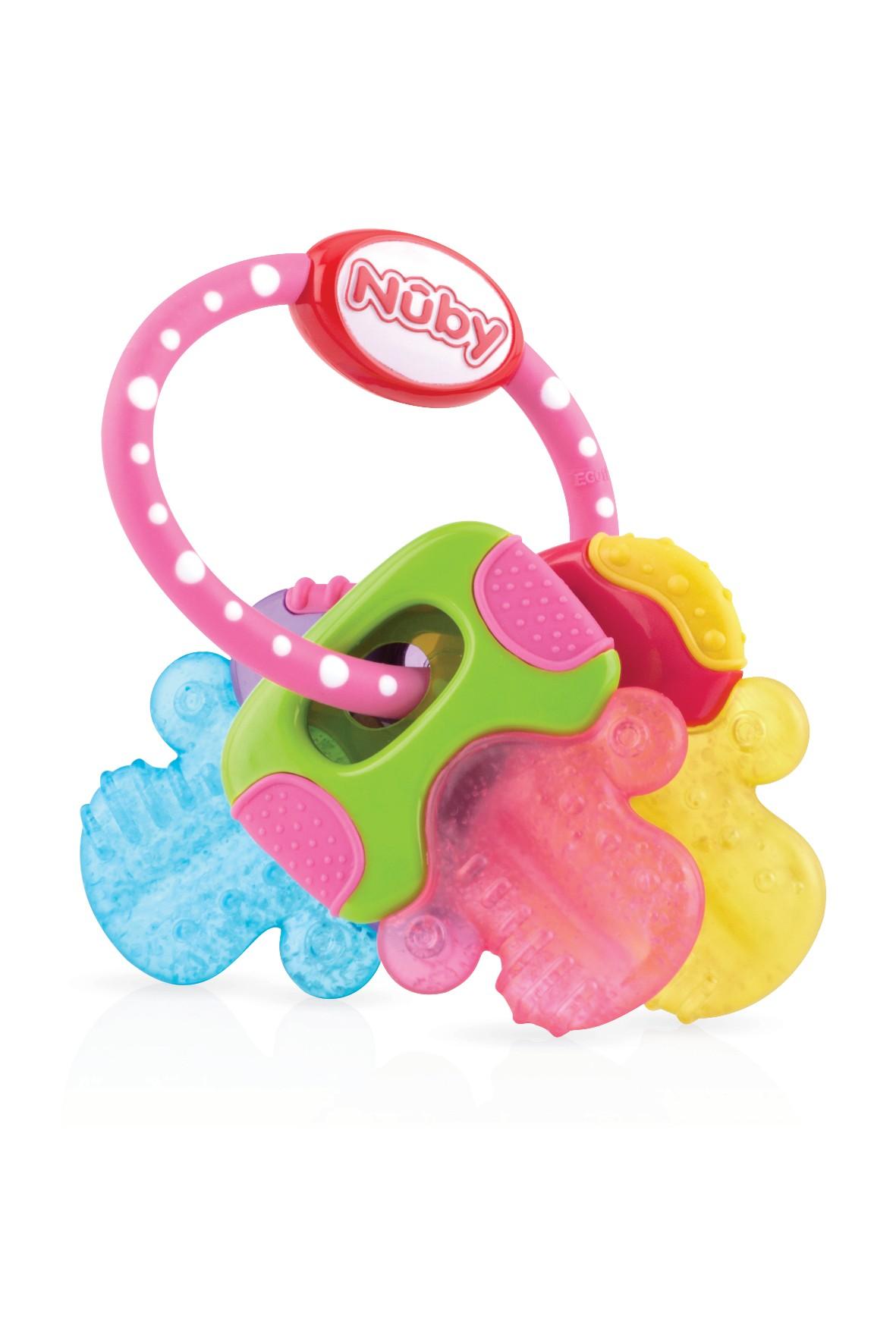 Chłodzący gryzak w kształcie kluczyków Nuby wiek 3msc+