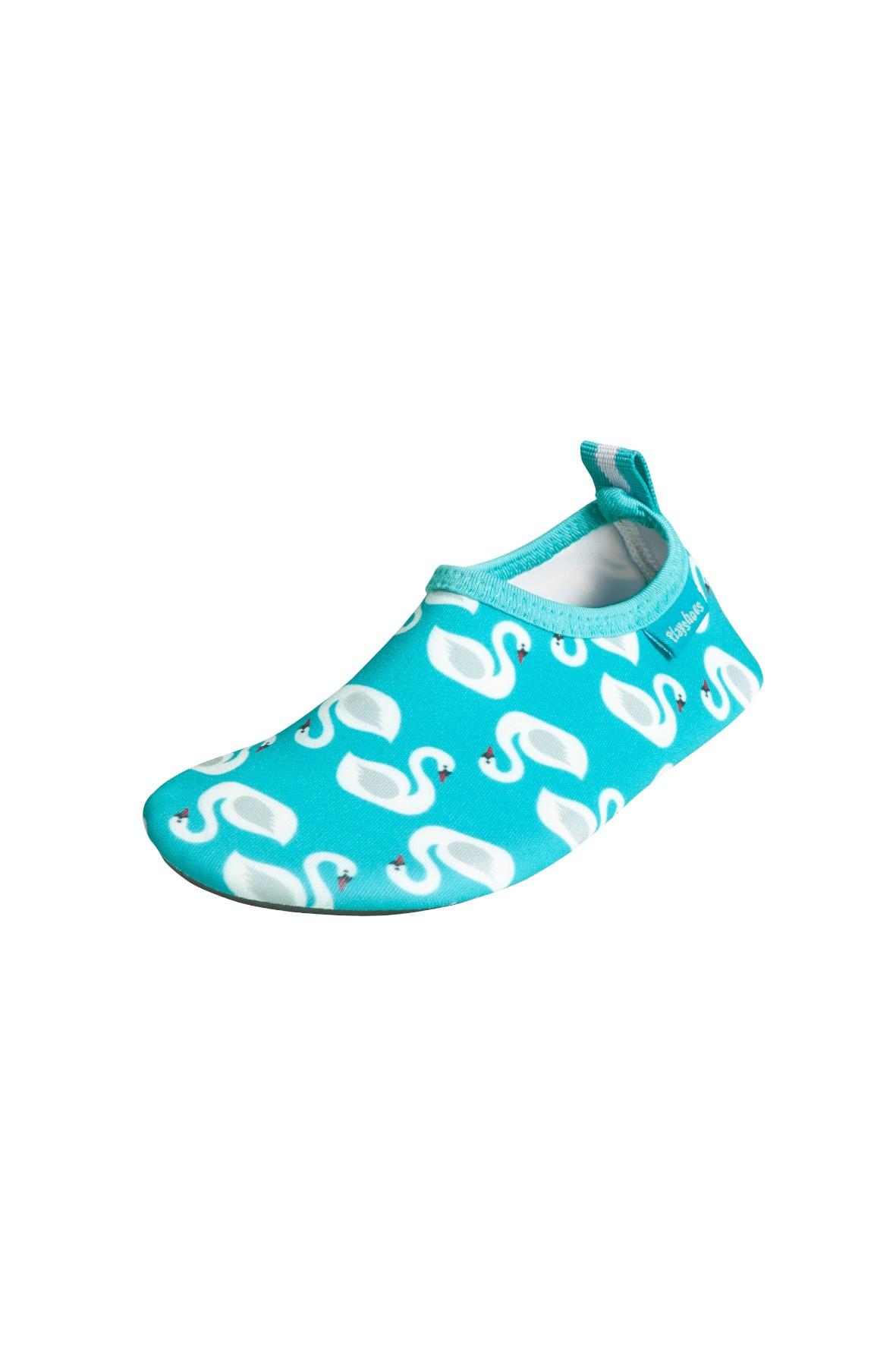 Buty kąpielowe dla dziewczynki filtr UV 50+ łabędzie