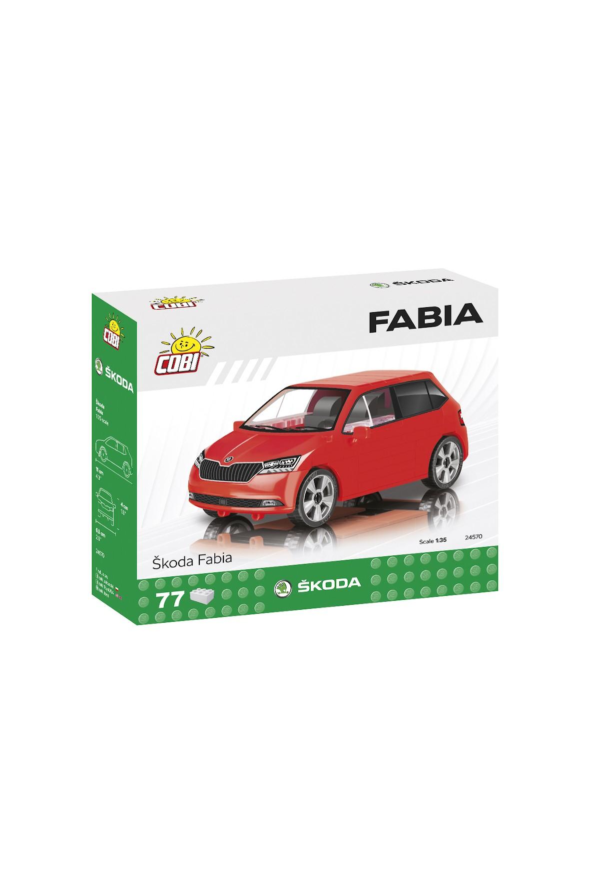 Klocki Cobi Cars Skoda Fabia'2019 77el