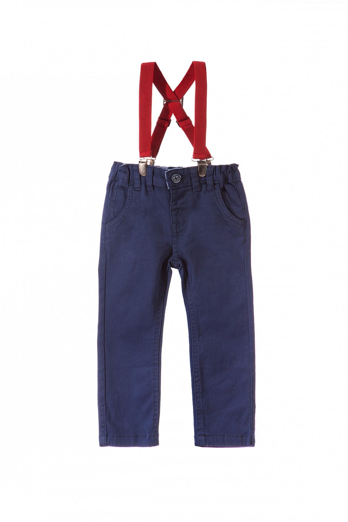 Spodnie chłopięce z szelkami 1L3315