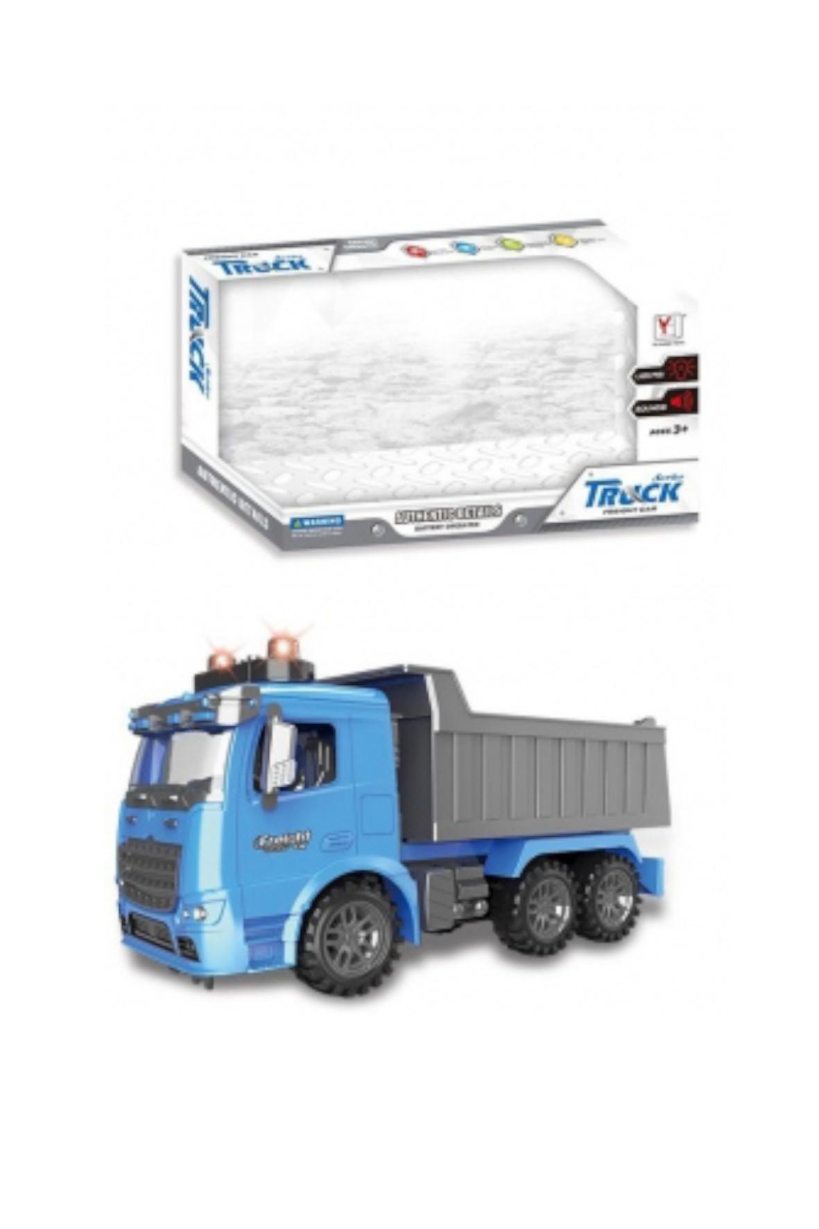Auto ciężarowe światło i dźwięk