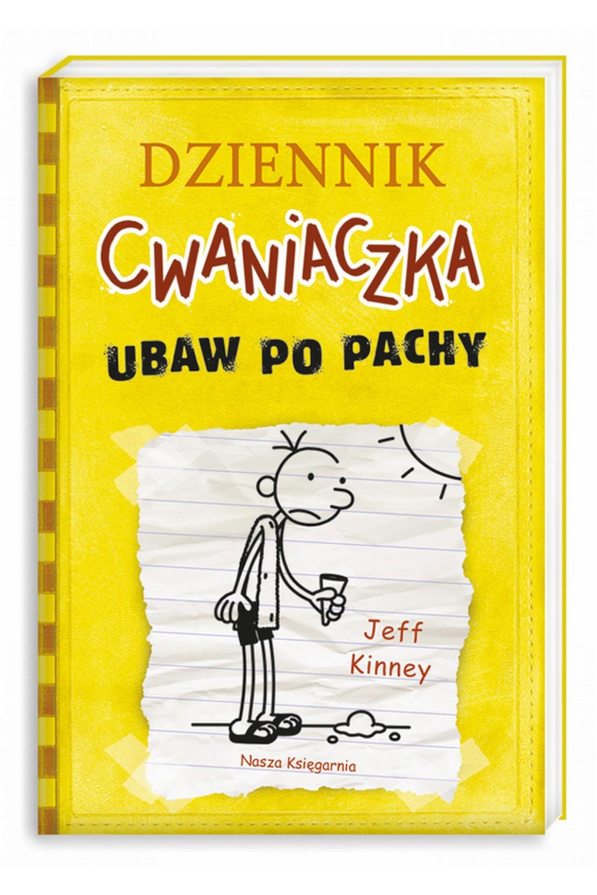"""Książka """"Dziennik cwaniaczka 4. Ubaw po pachy"""""""