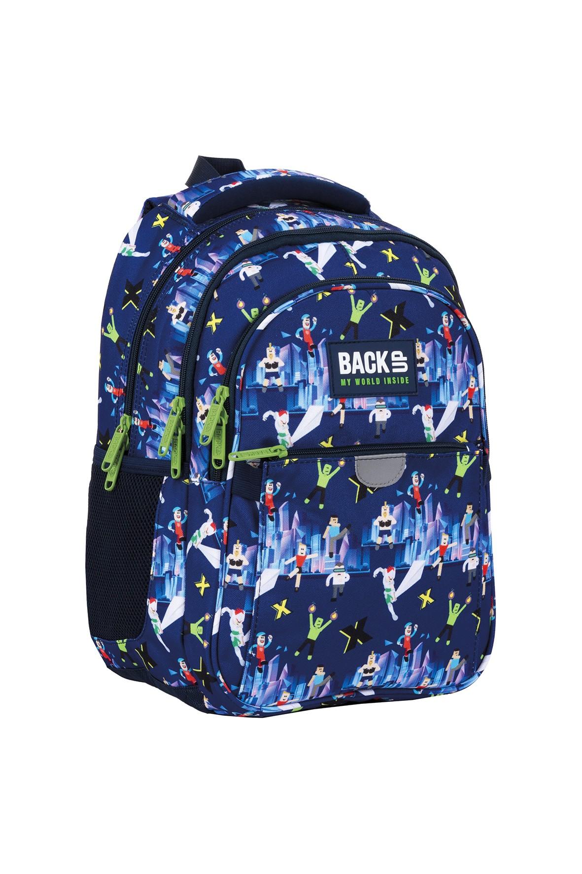Plecak BackUp z kolorowym nadrukiem