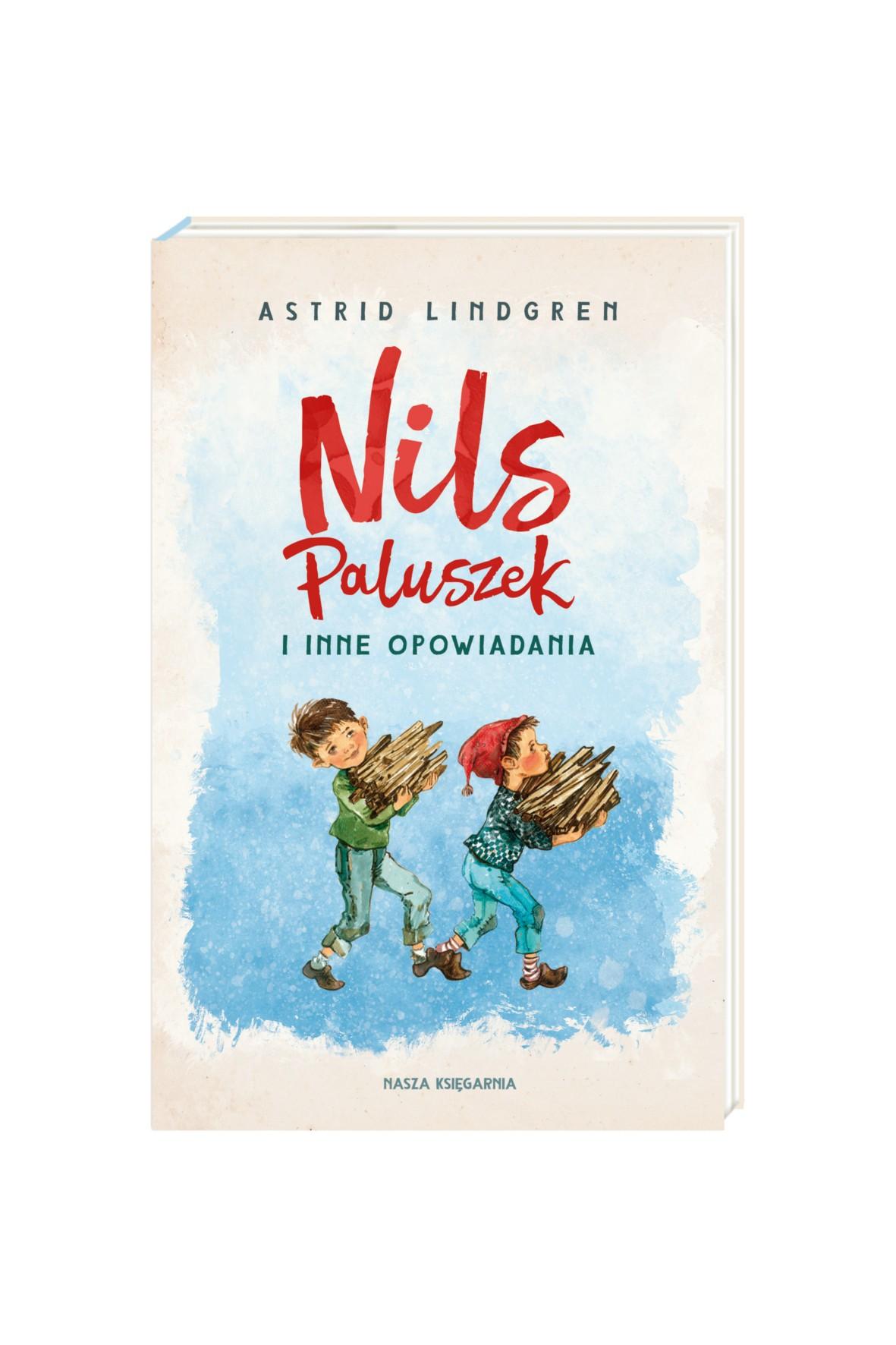 Książka -Nils Paluszek i inne opowiadania