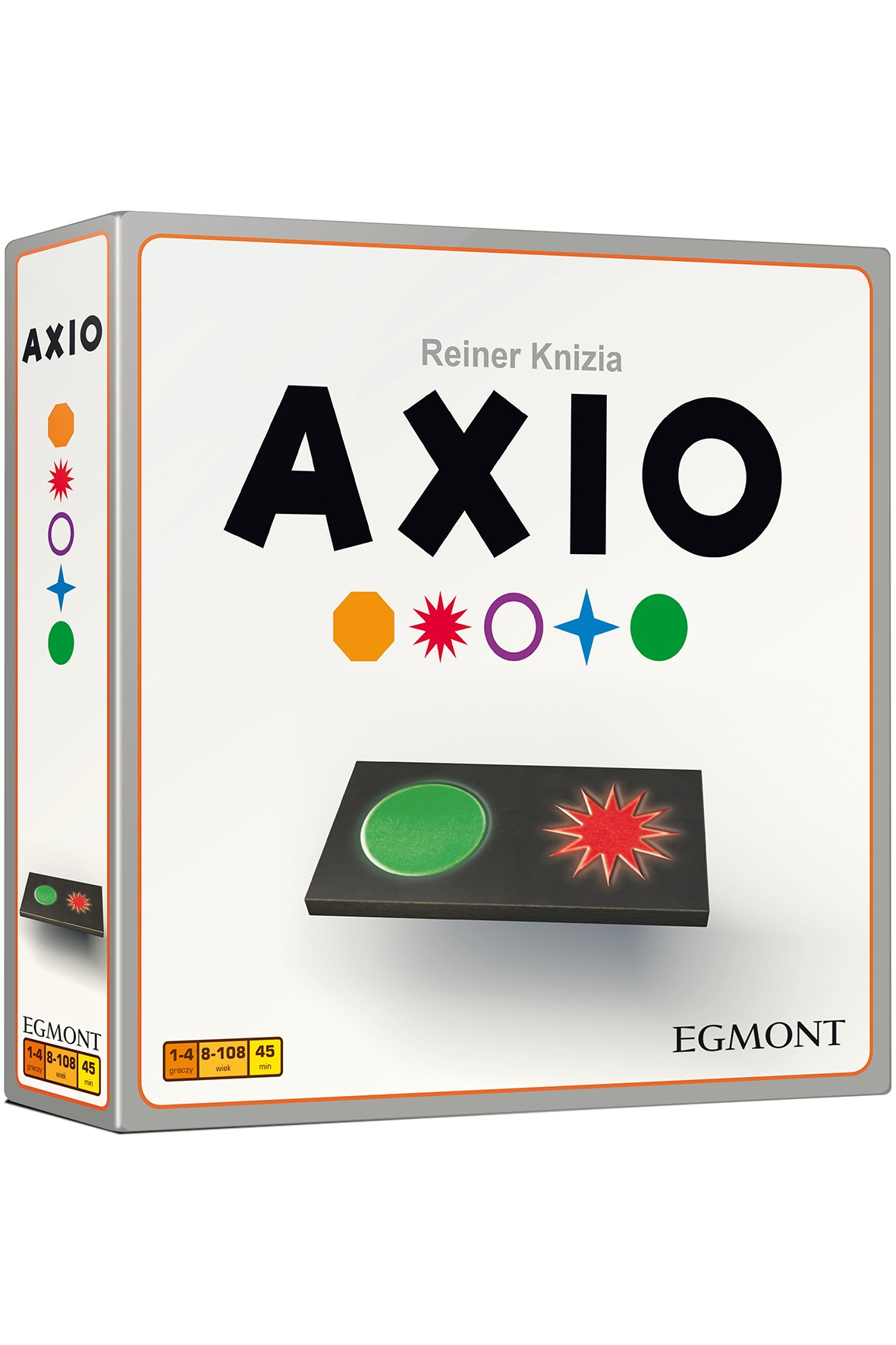 Gry logiczna dla rodziny - Axio wiek 8+