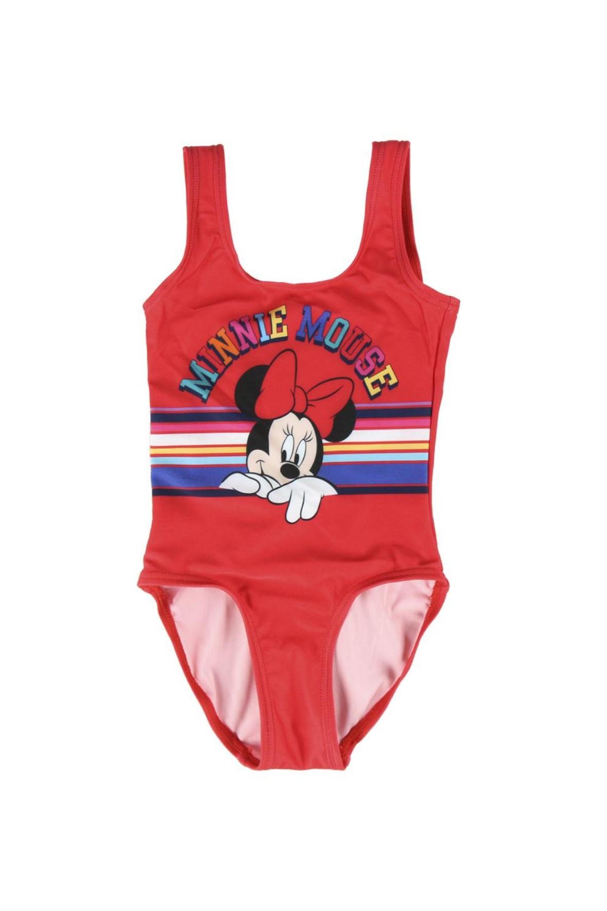 Strój kąpielowy Myszka Minnie - czerwony