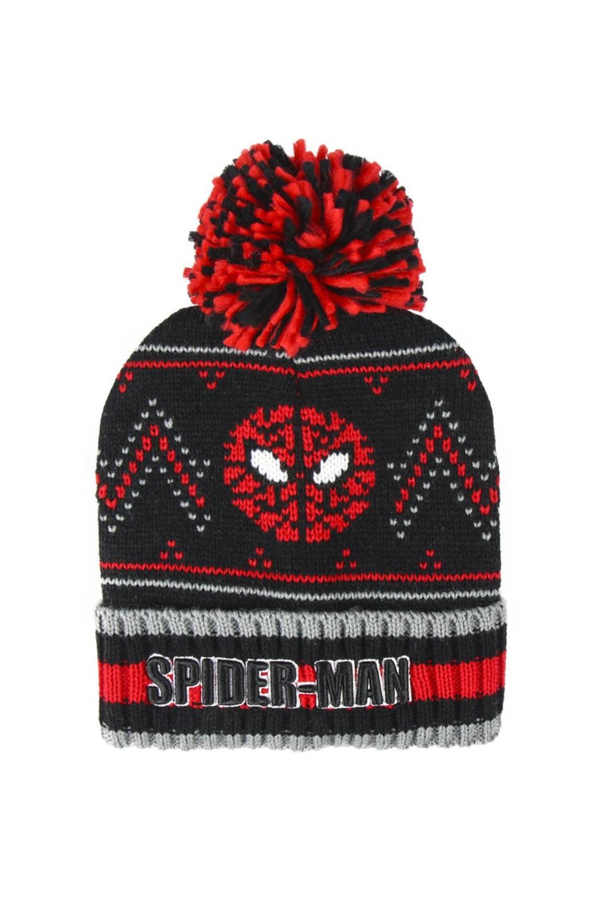 Czapka chłopięca Spiderman rozm 48/50