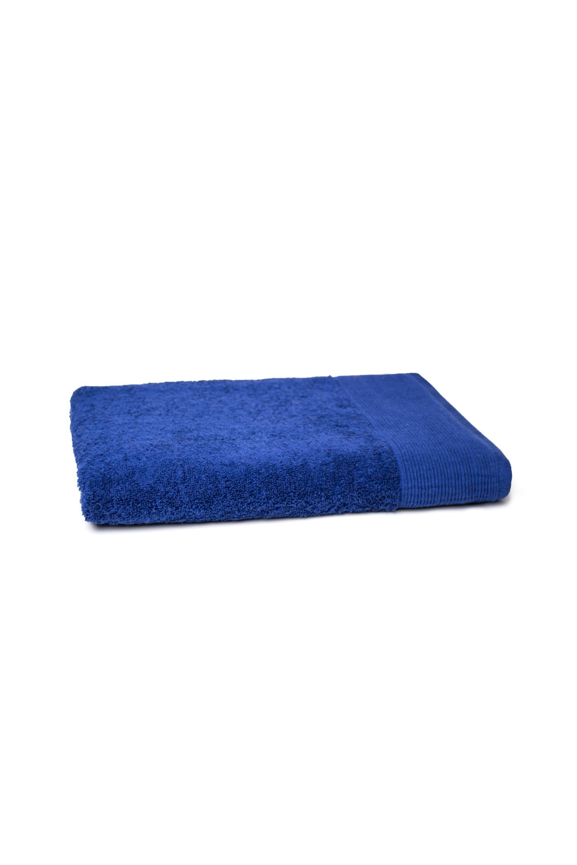 Bawełniany ręcznik w kolorze granatowym o wymiarach 70x140 cm