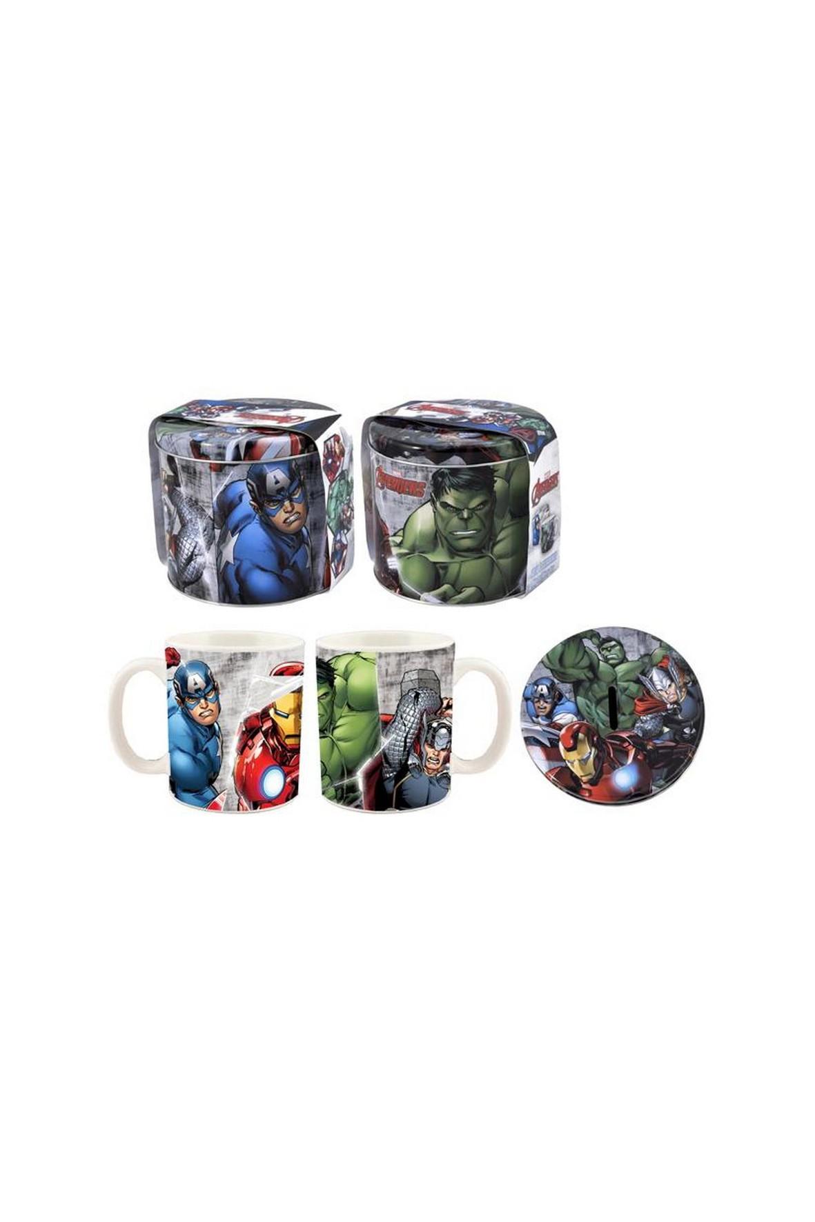 Kubek i skarbonka Avengers