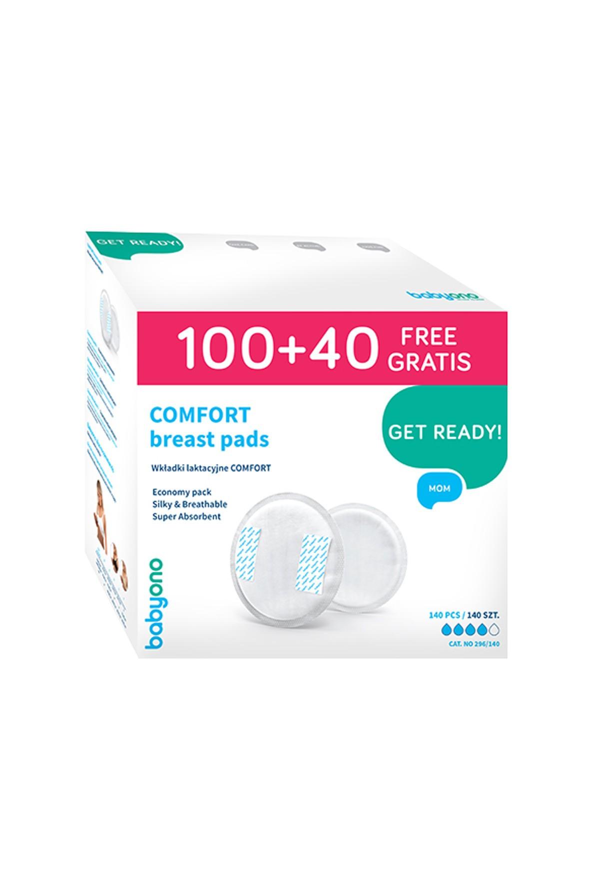 Wkładki laktacyjne Comfort 100    + 40 Gratis