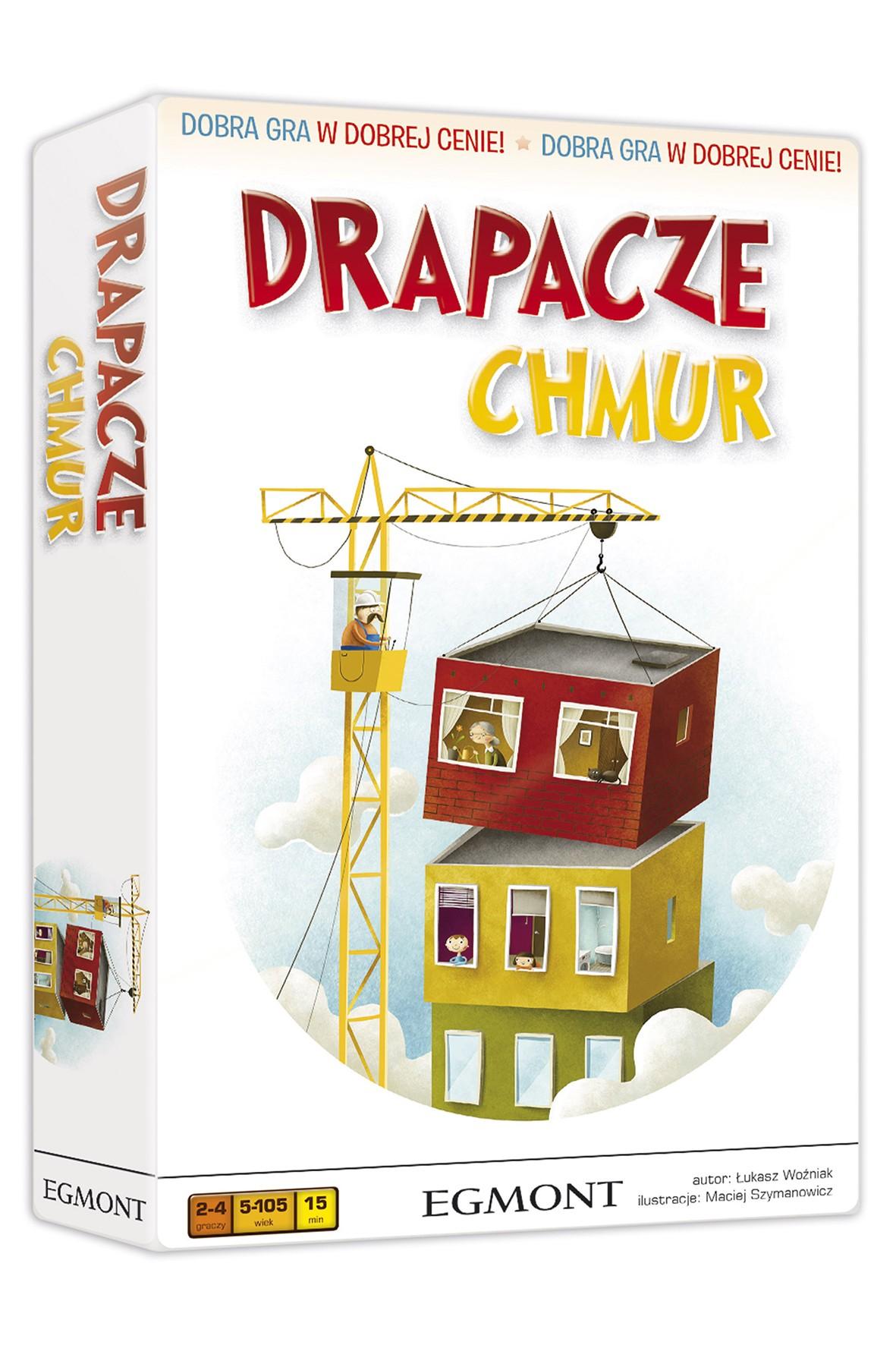 Gra edukacyjna dla dzieci DRAPACZE CHMUR wiek 5+