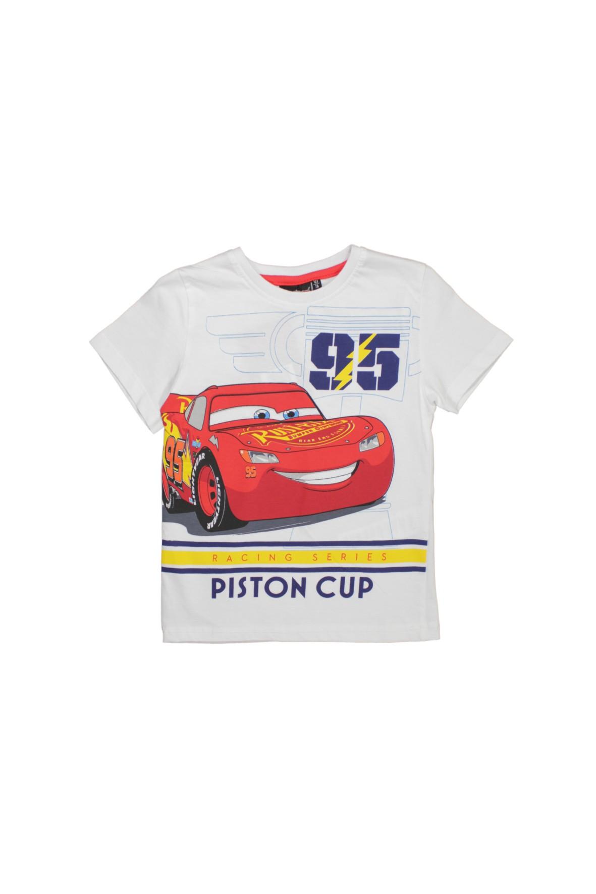 T-shirt chłopięcy Cars 1I34EP
