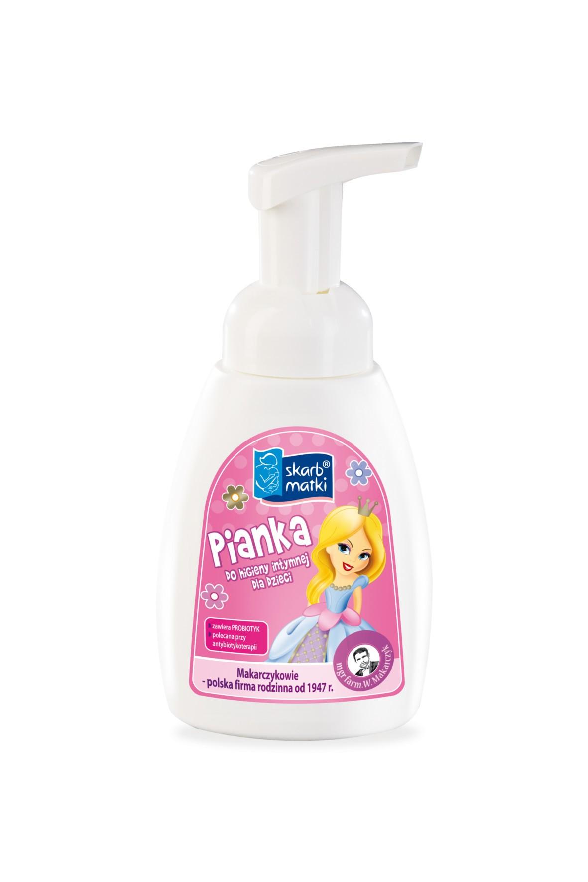 Pianka do higieny int dla dzieci
