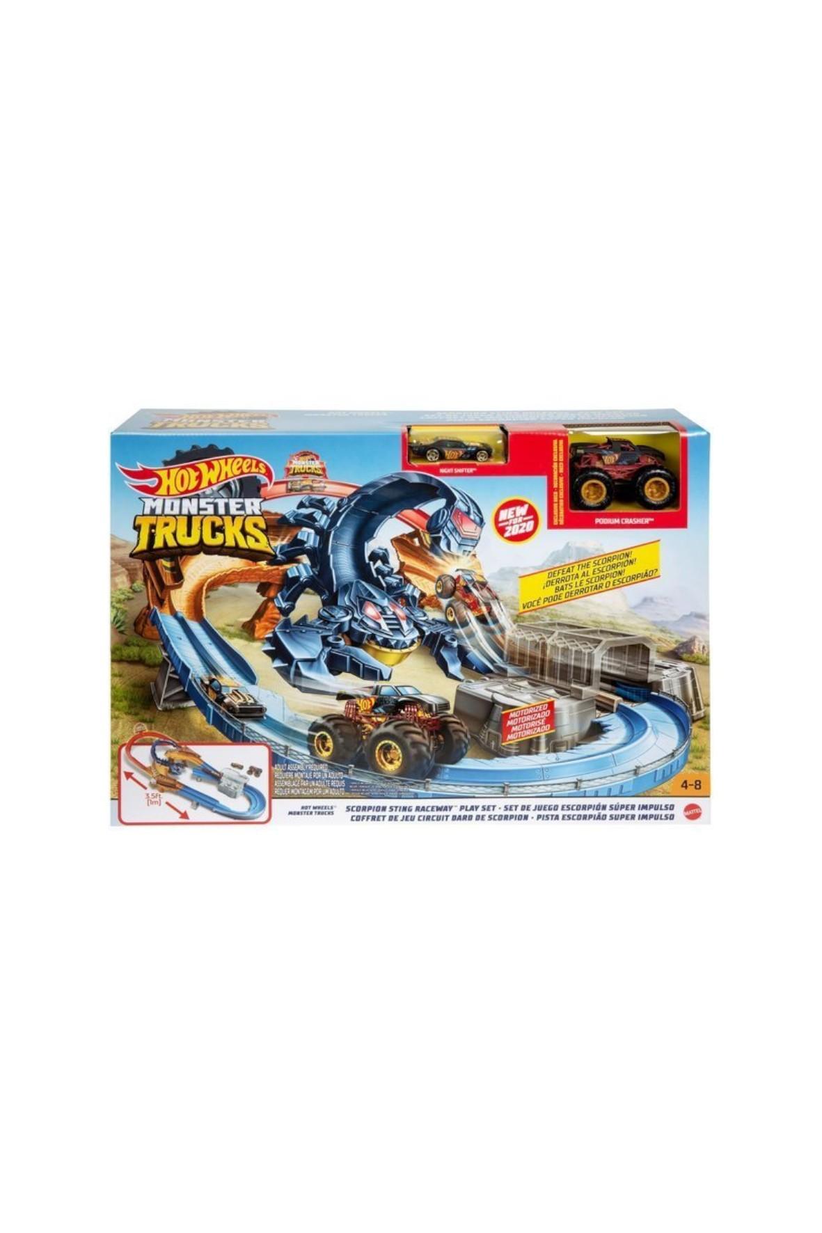 Hot Wheels Monster Trucks - Tor Skorpion wiek 4+