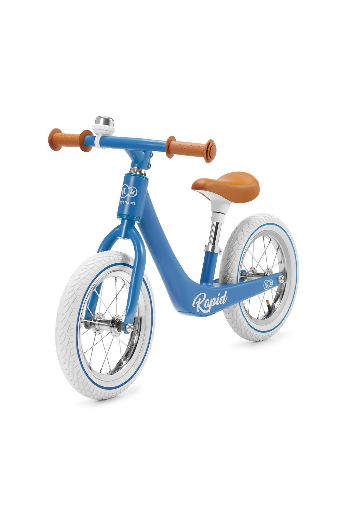 Rowerek biegowy RAPID Blue Sapphire 24msc+