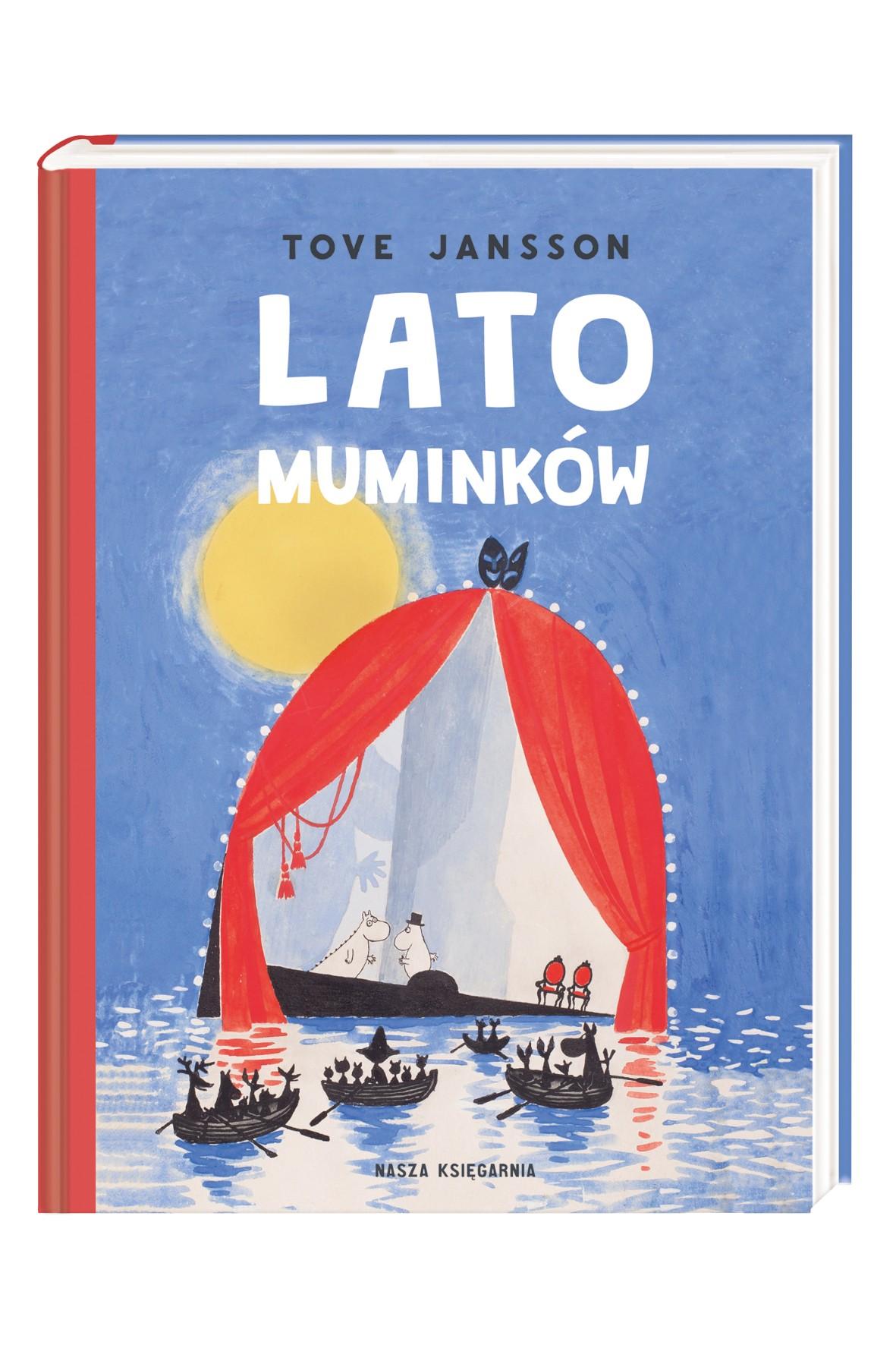 """Książka """"Lato Muminków"""""""