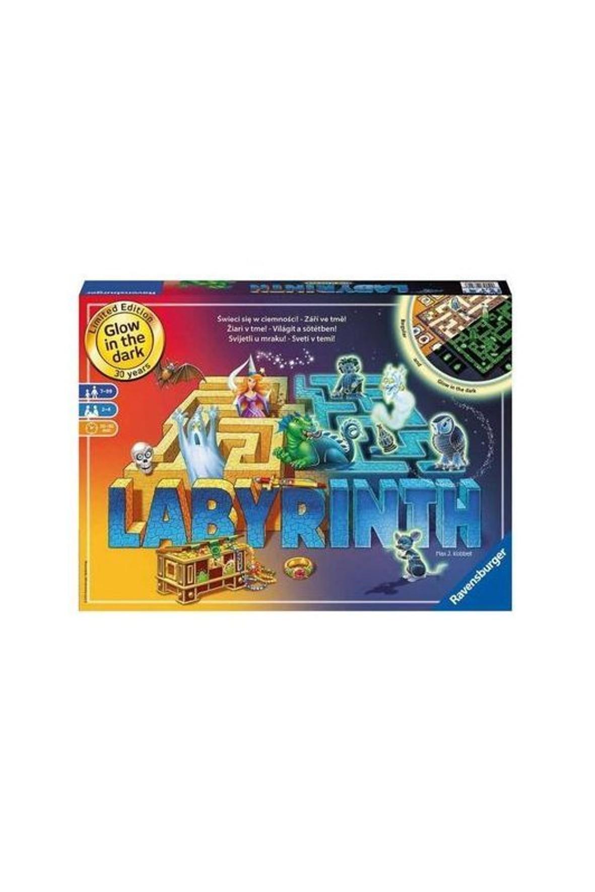 Gra Labirynt Świecący w ciemności Ravensburger