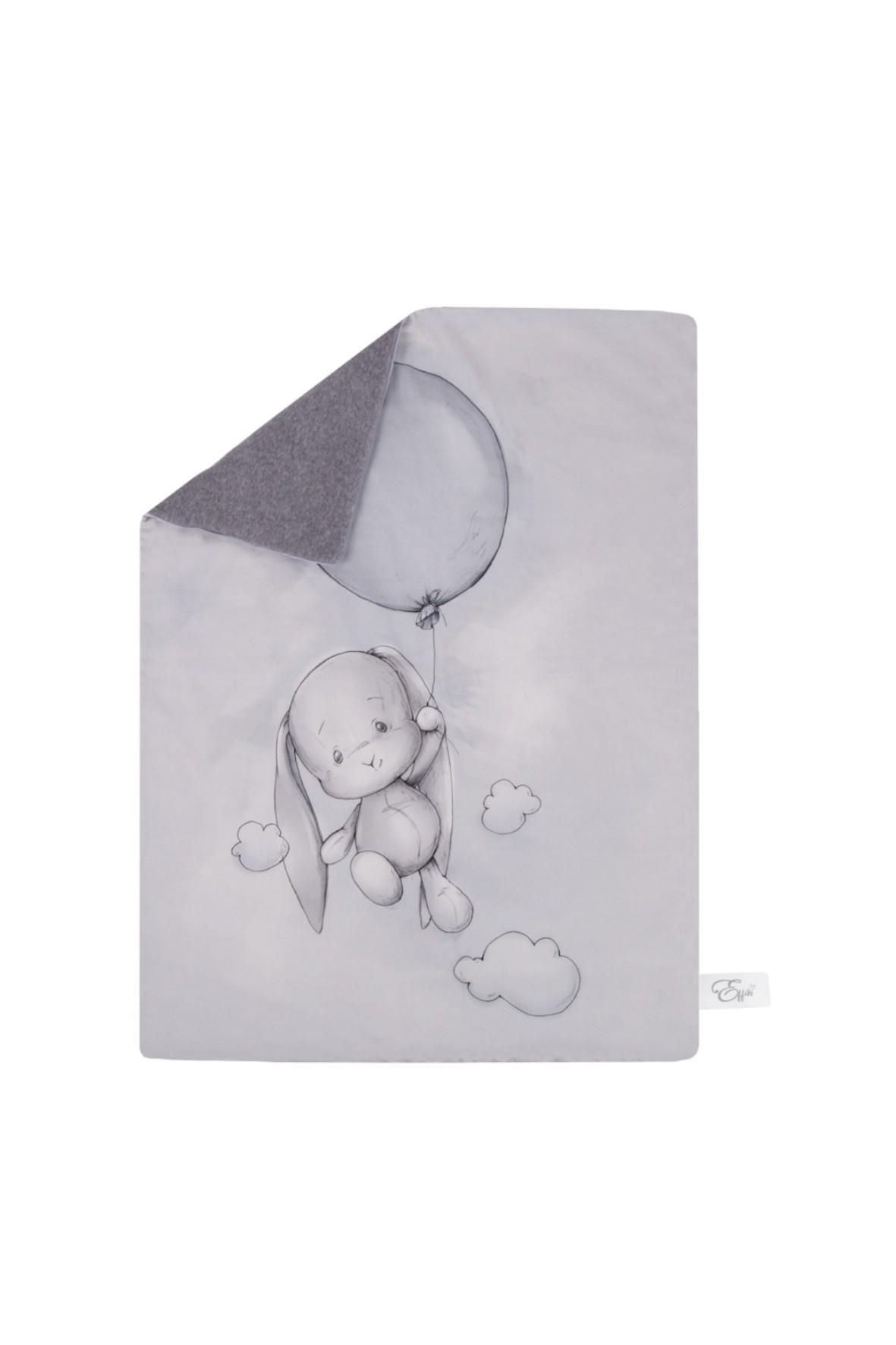 Kocyk ocieplany Effik z balonem