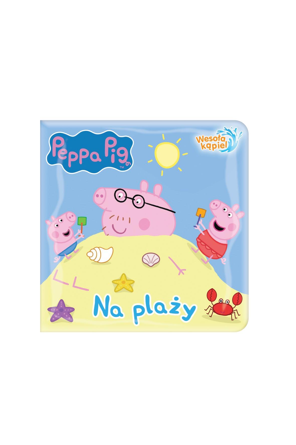 Peppa Pig. Wesoła kąpiel. Na plaży