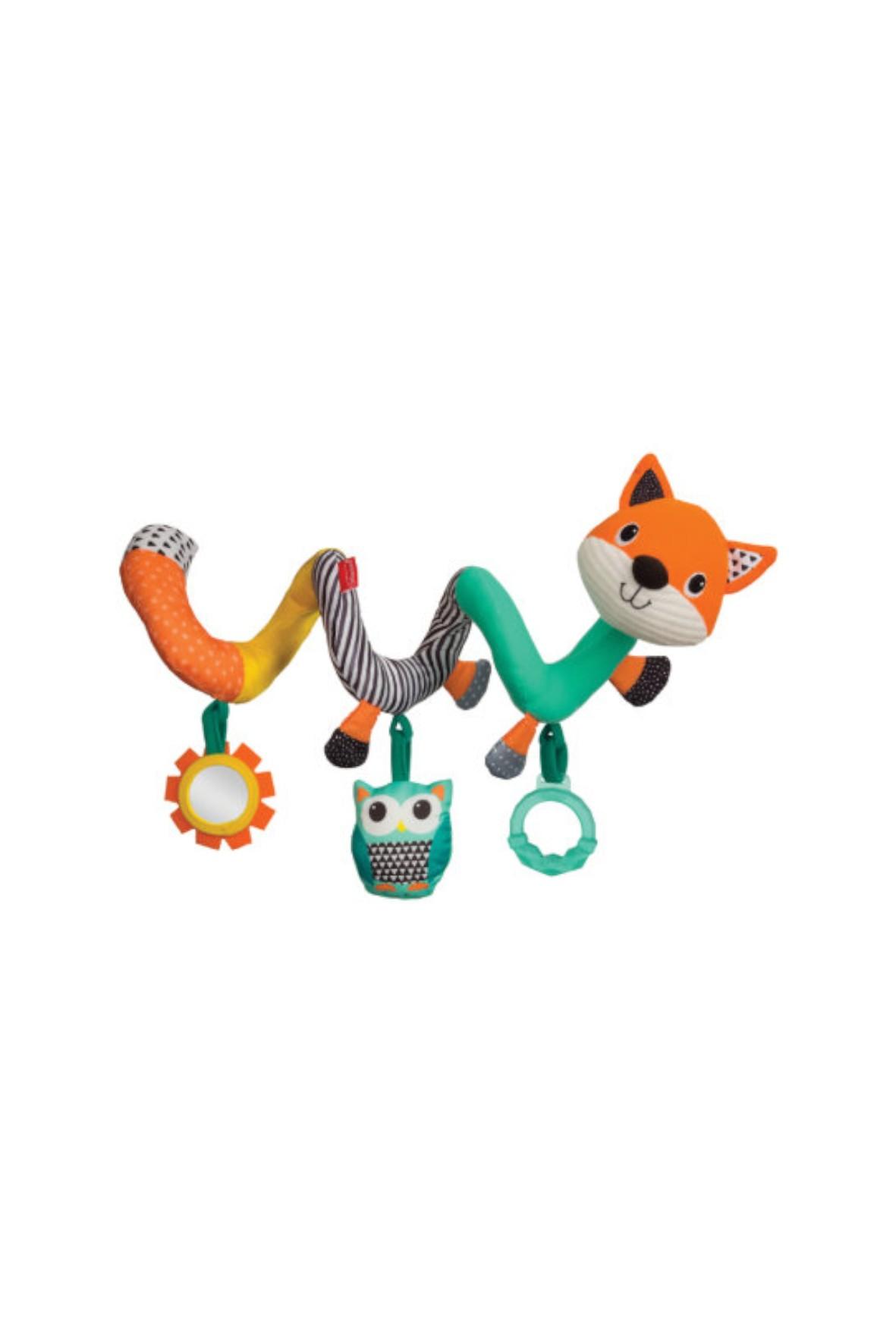 Spiralna zabawka edukacyjna Lis Infantino 0msc+