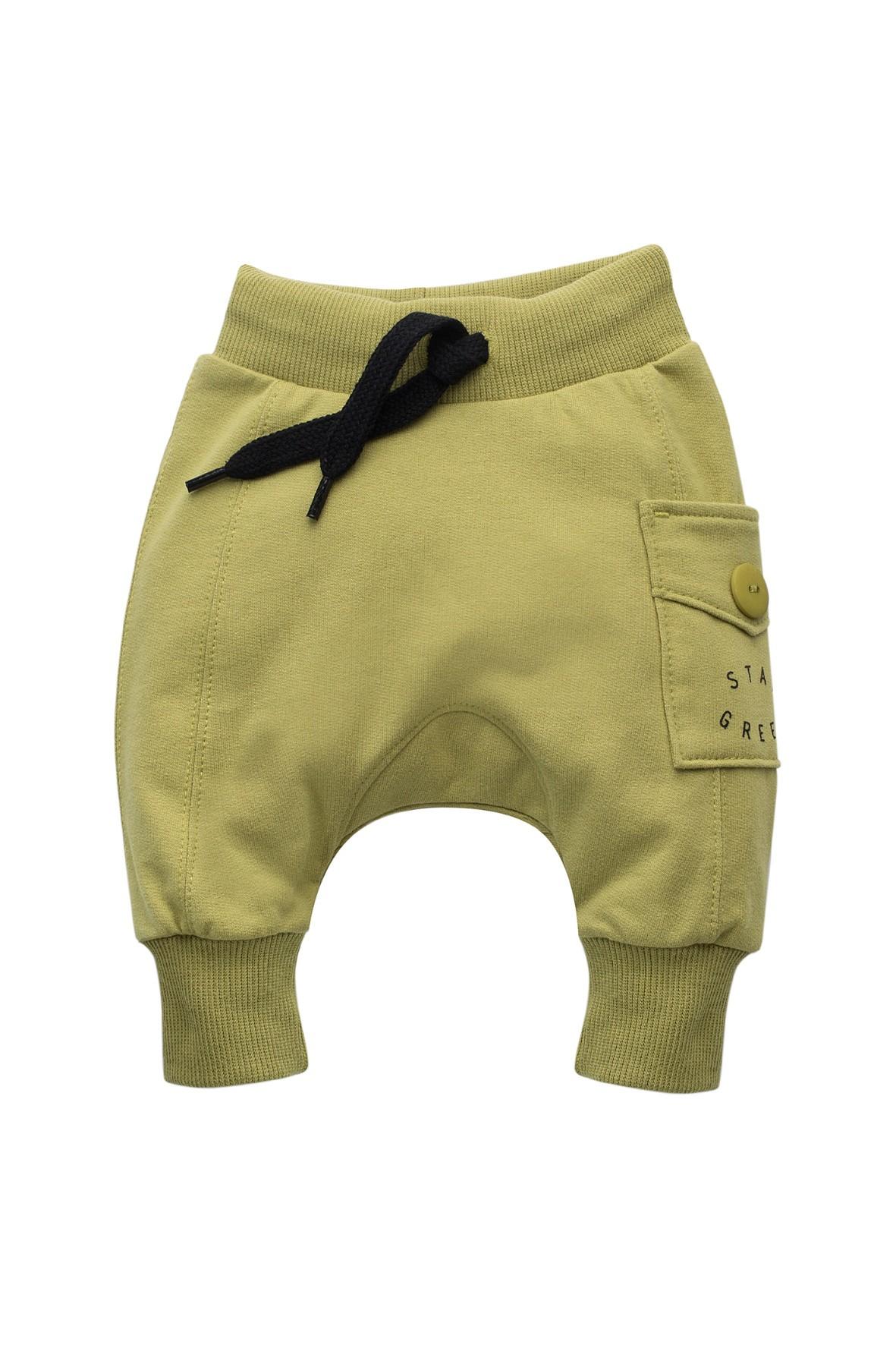 Spodnie dresowe pumpy- STAY GREEN