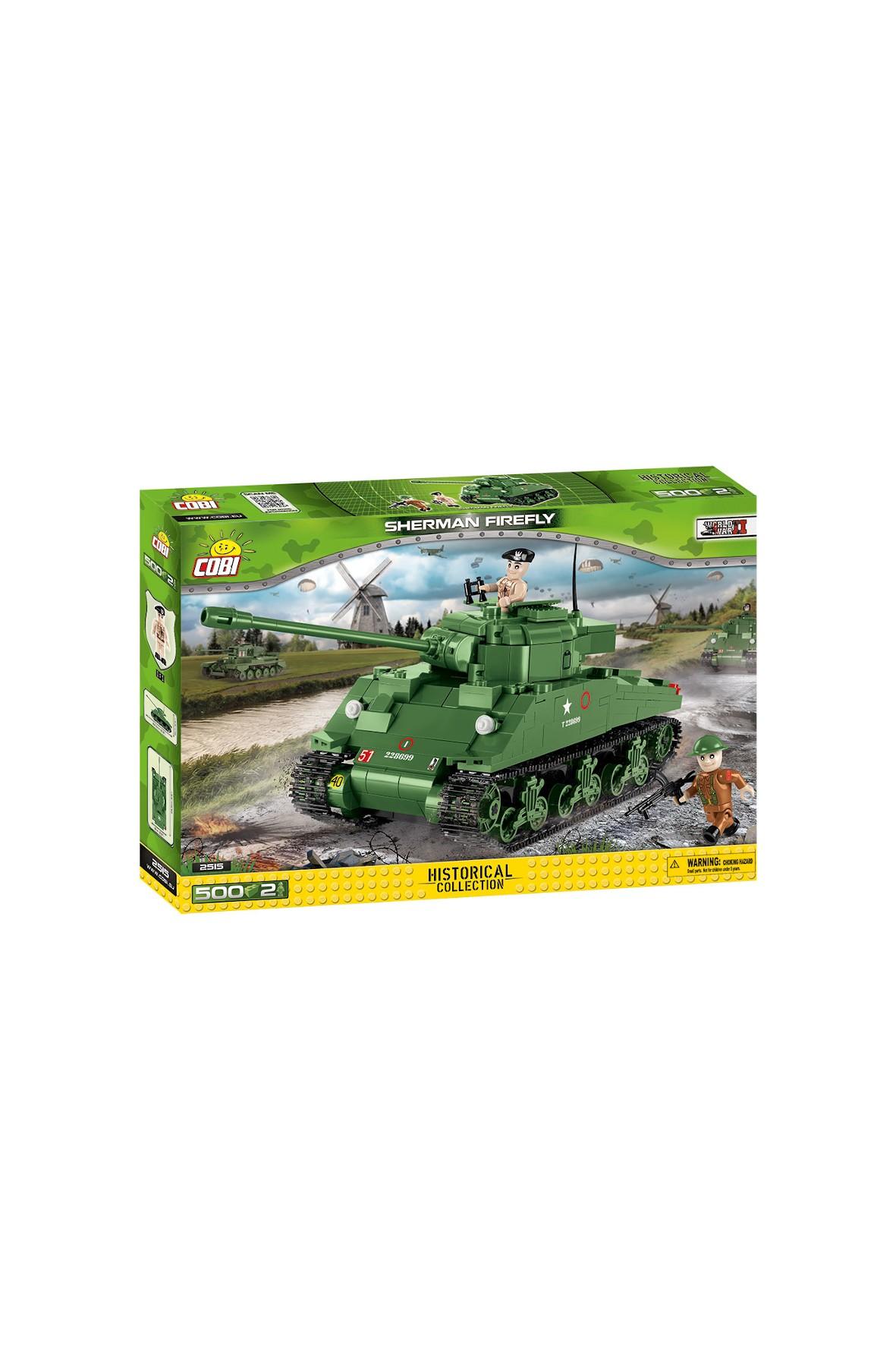 Klocki Cobi Small Army Sherman Firefly 500el