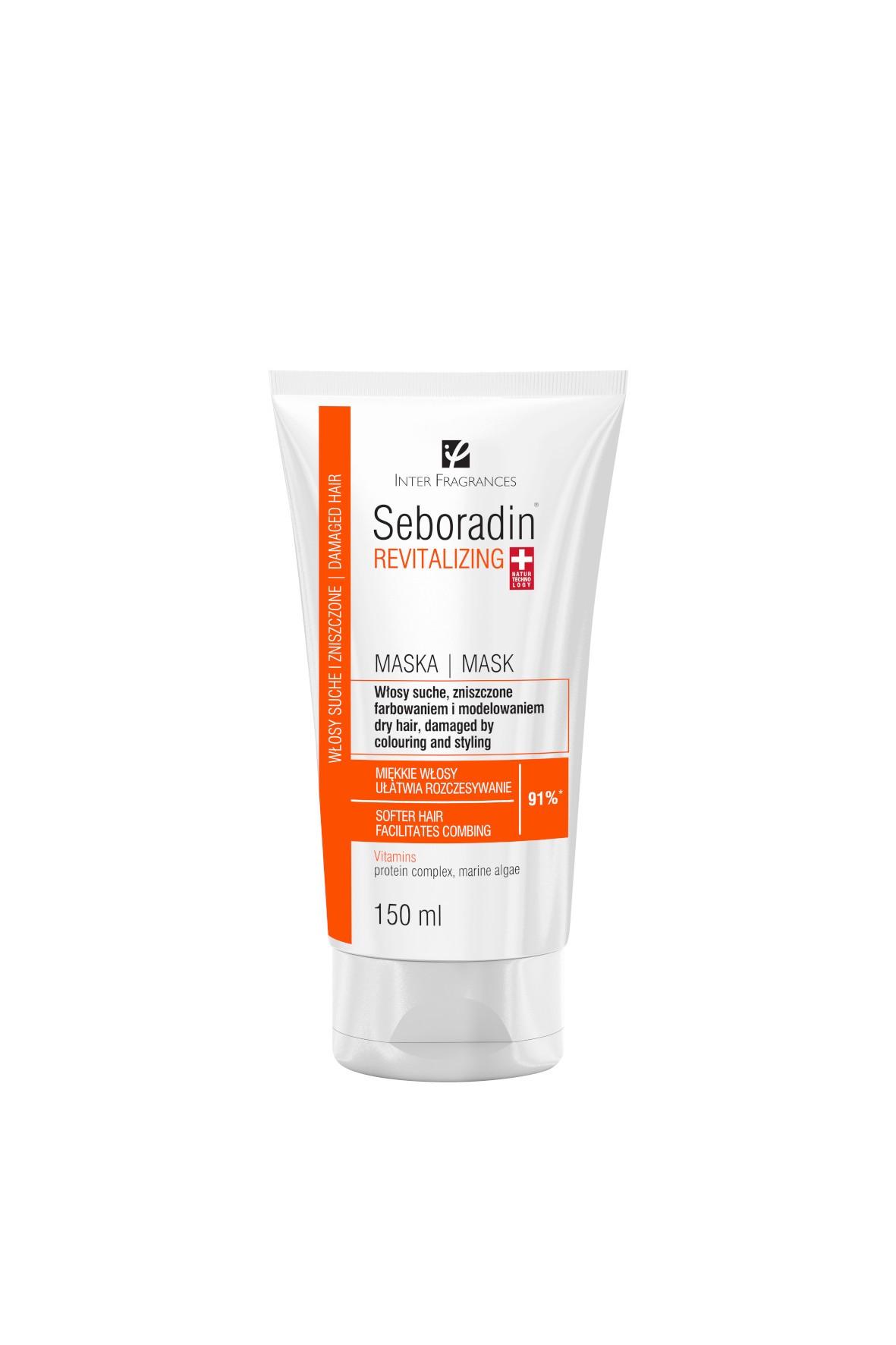 Seboradin Regenerujący maska do włosów - 150ml