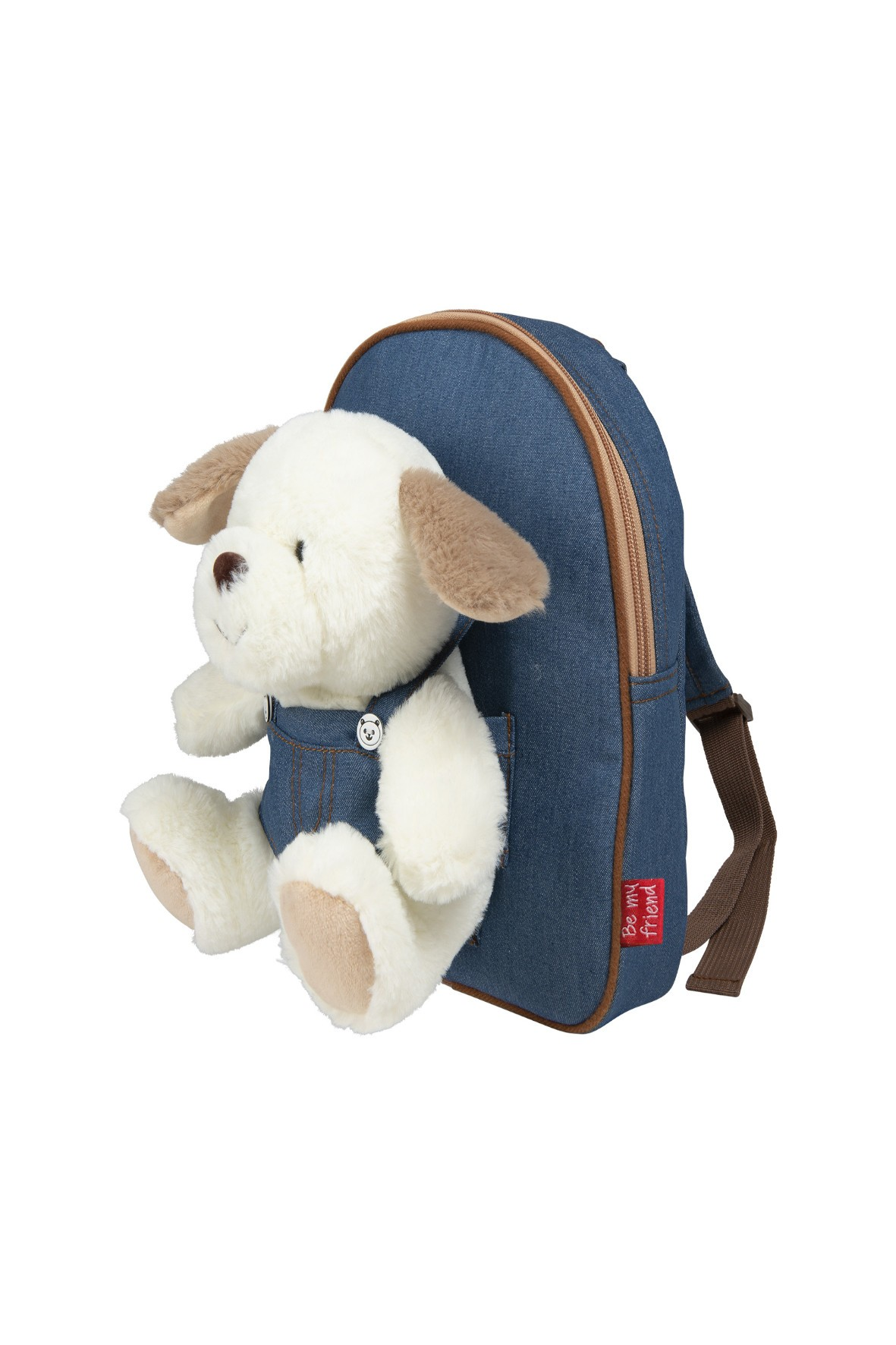 Plecak Denim z przytulanką Danny Pies wiek 2+