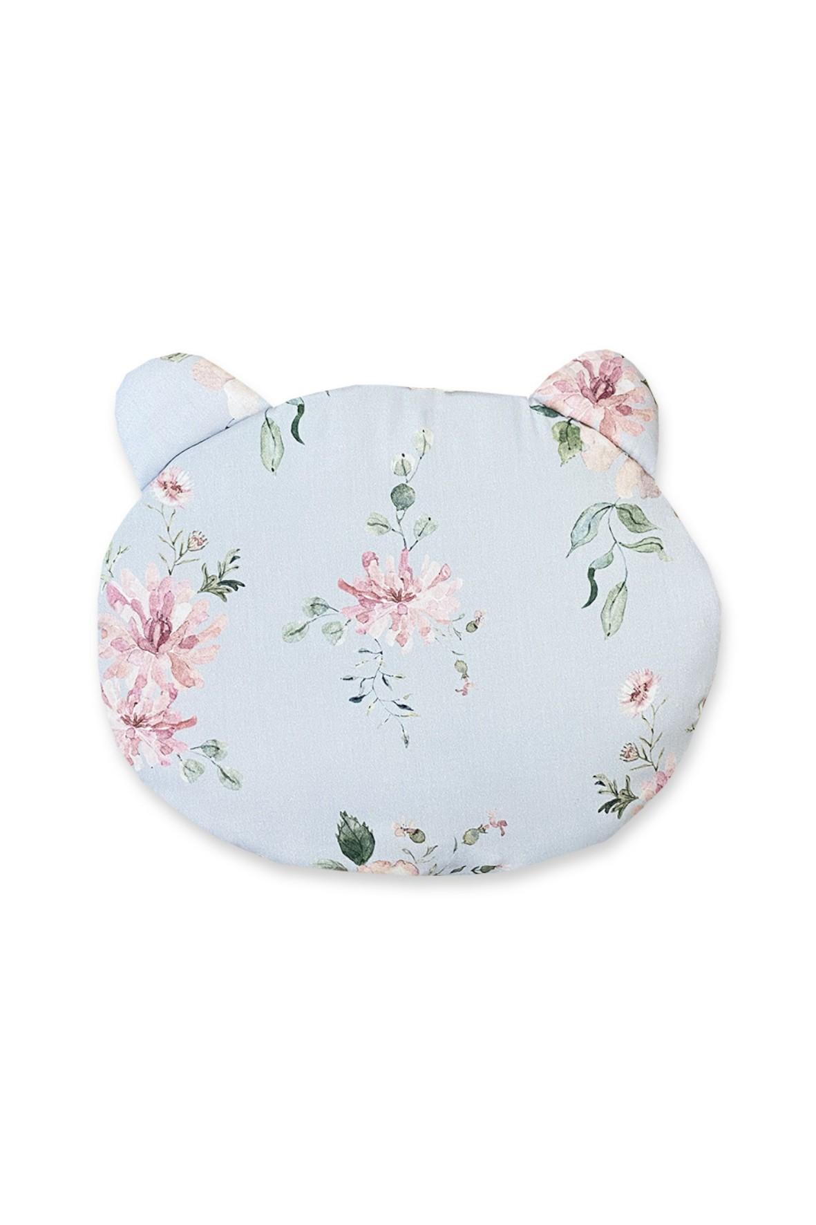 Poduszka bawełniana z uszami z wzorem Magiczny Ogród