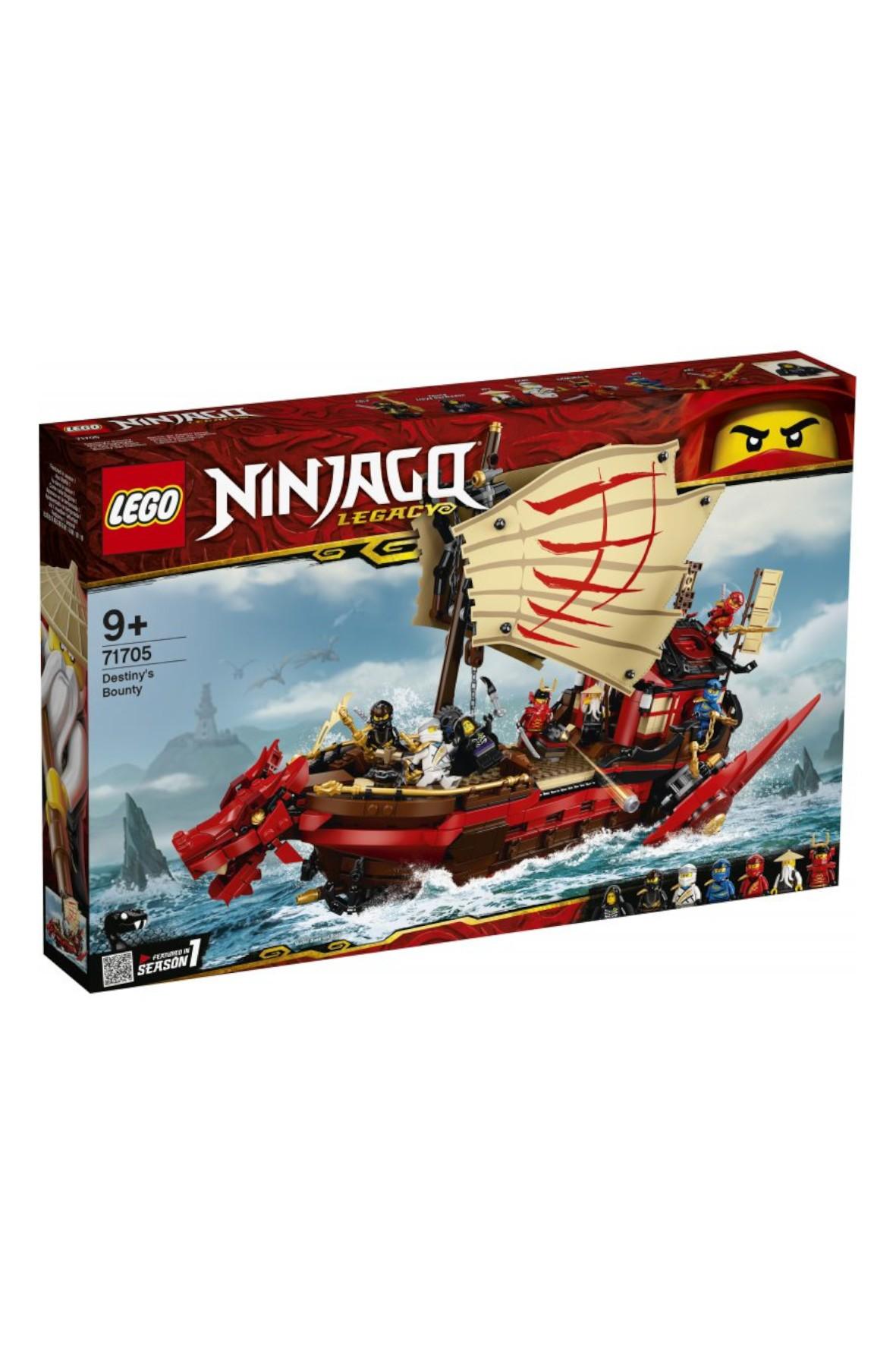 LEGO® NINJAGO® 71705 -  1781 elementów wiek 9 +