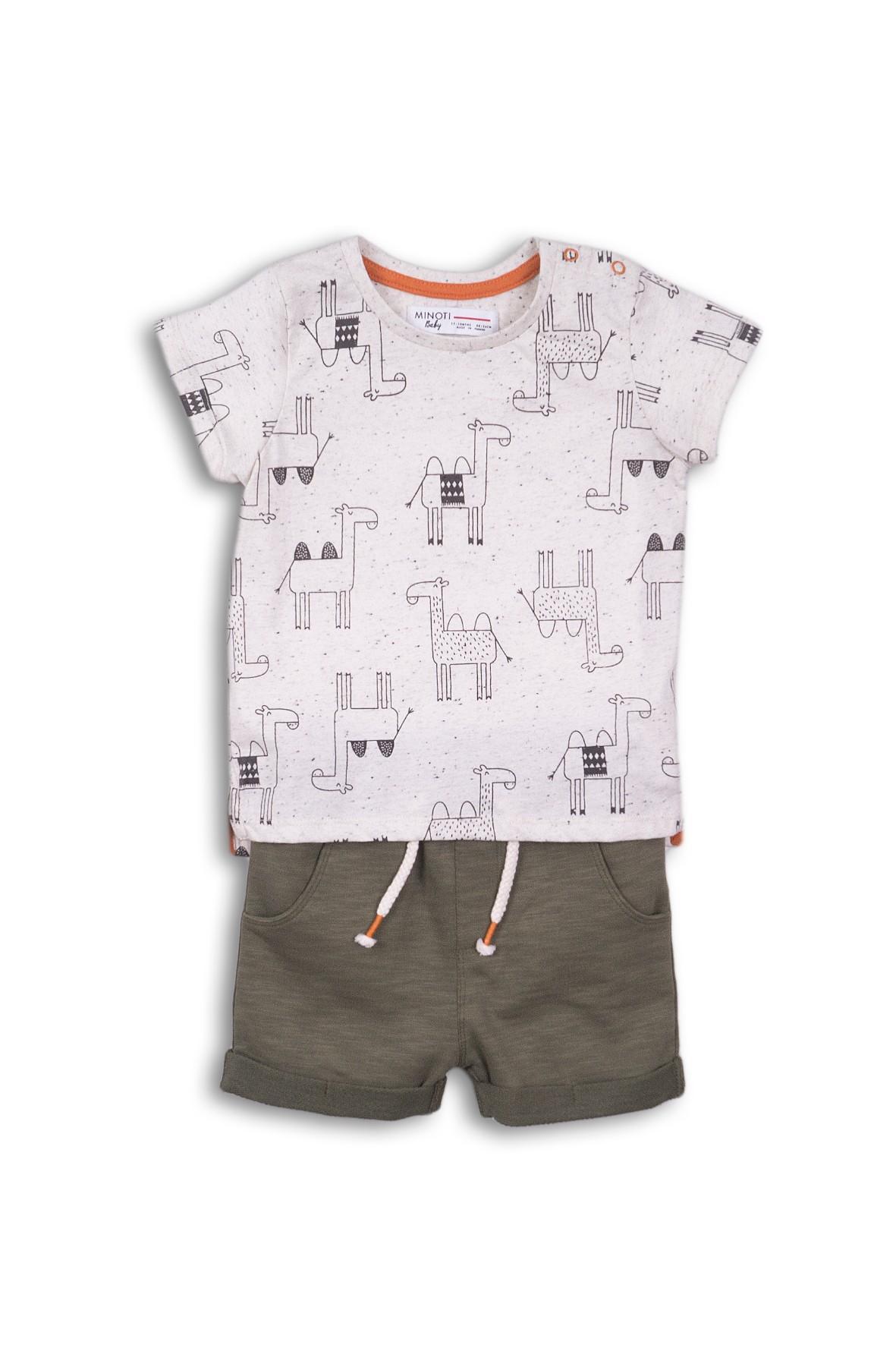 Komplet niemowlęcy na lato t-shirt i szorty