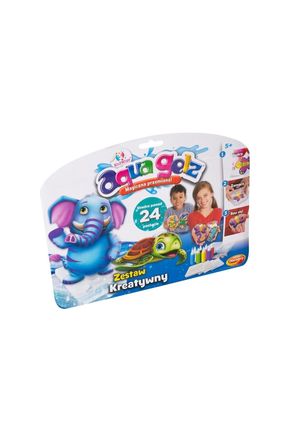 Aqua Gelz - zestaw kreatywny 5+