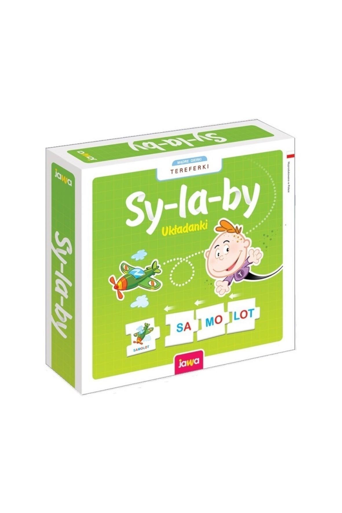 Układanka Sylaby- zabawka edukacyjna 6+