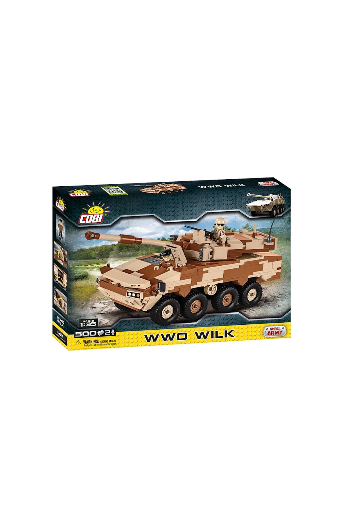 Klocki Cobi Small Army WWO Wilk 502el