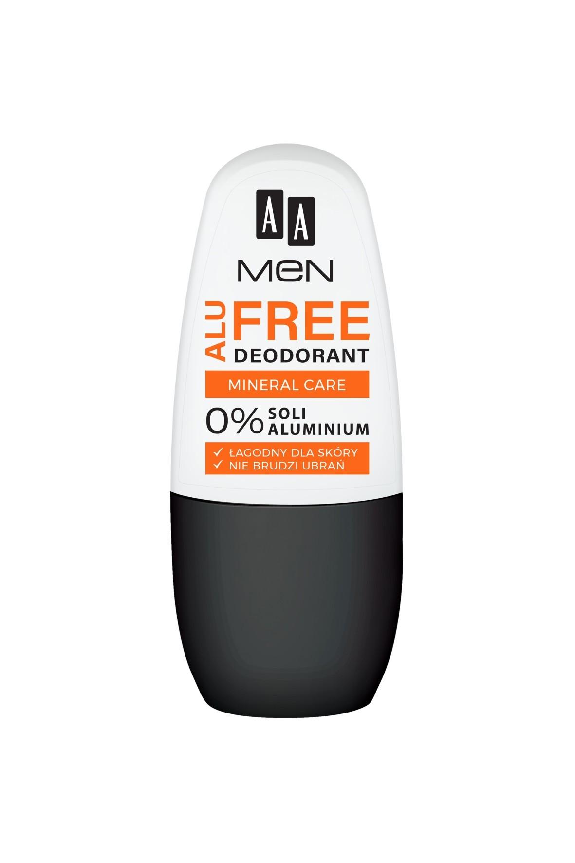 AA Men Alu Free deodorant mineral care 50 ml