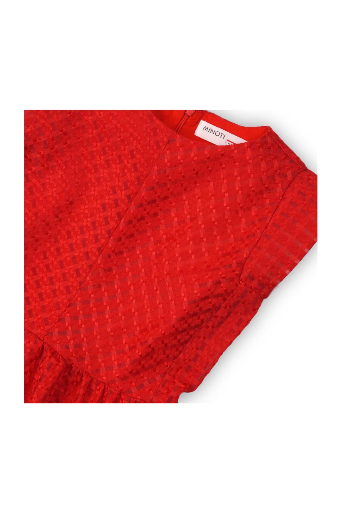 25ff017953 ... Elegancka sukienka dla dziewczynki- czerwona ...