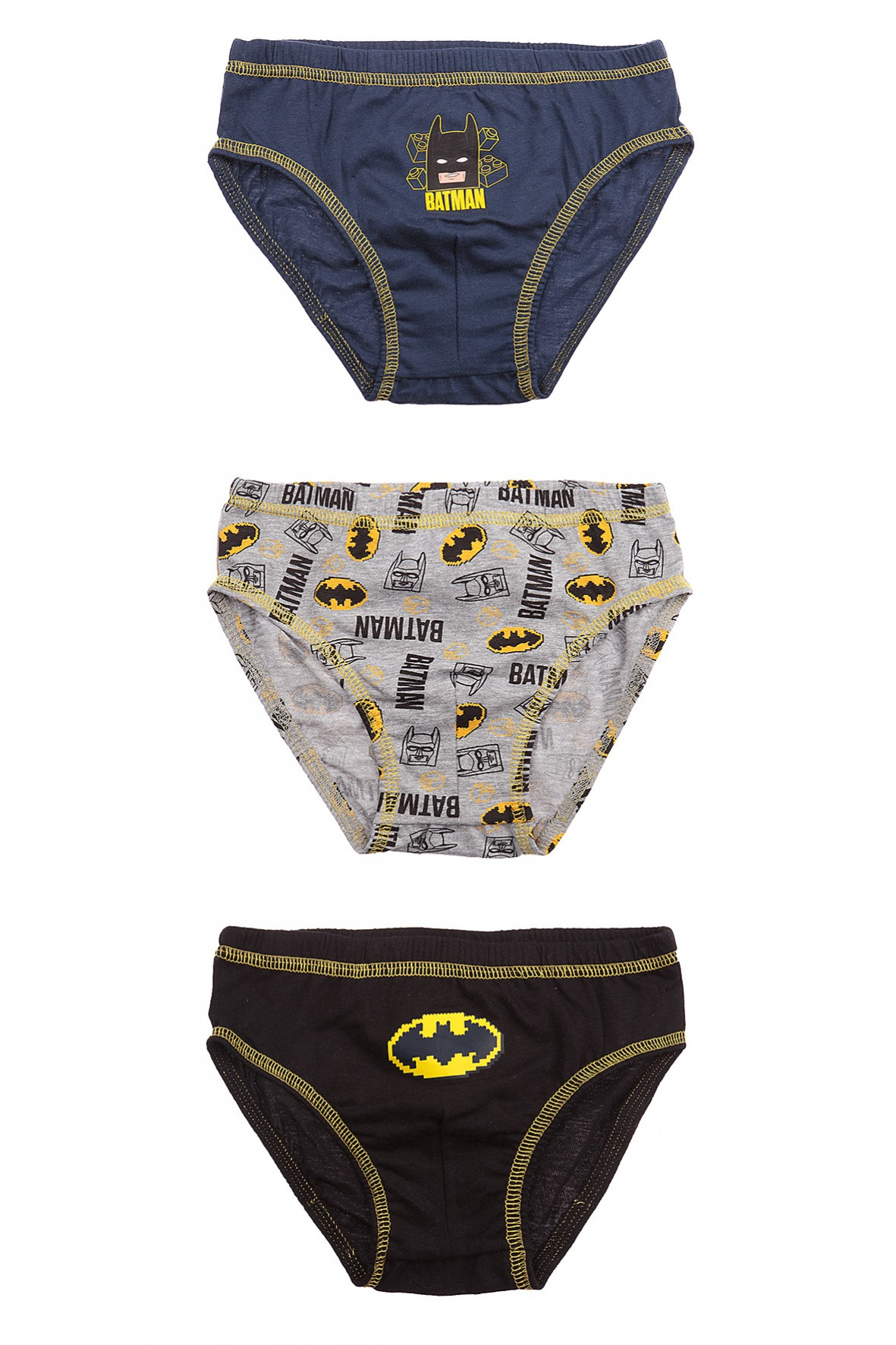 Majtki chłopięce Batman 3sztuki