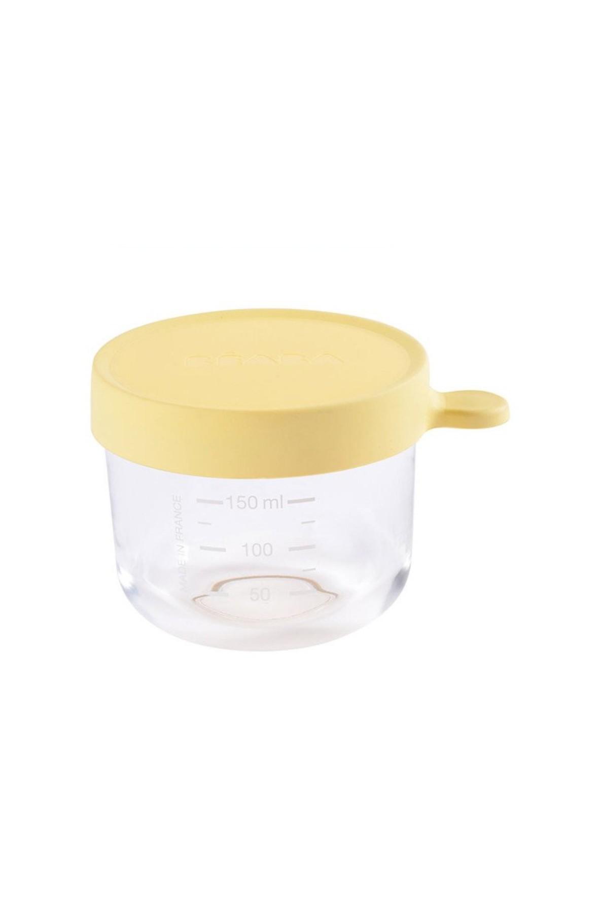 Pojemnik słoiczek szklany z hermetycznym zamknięciem 150 ml Beaba