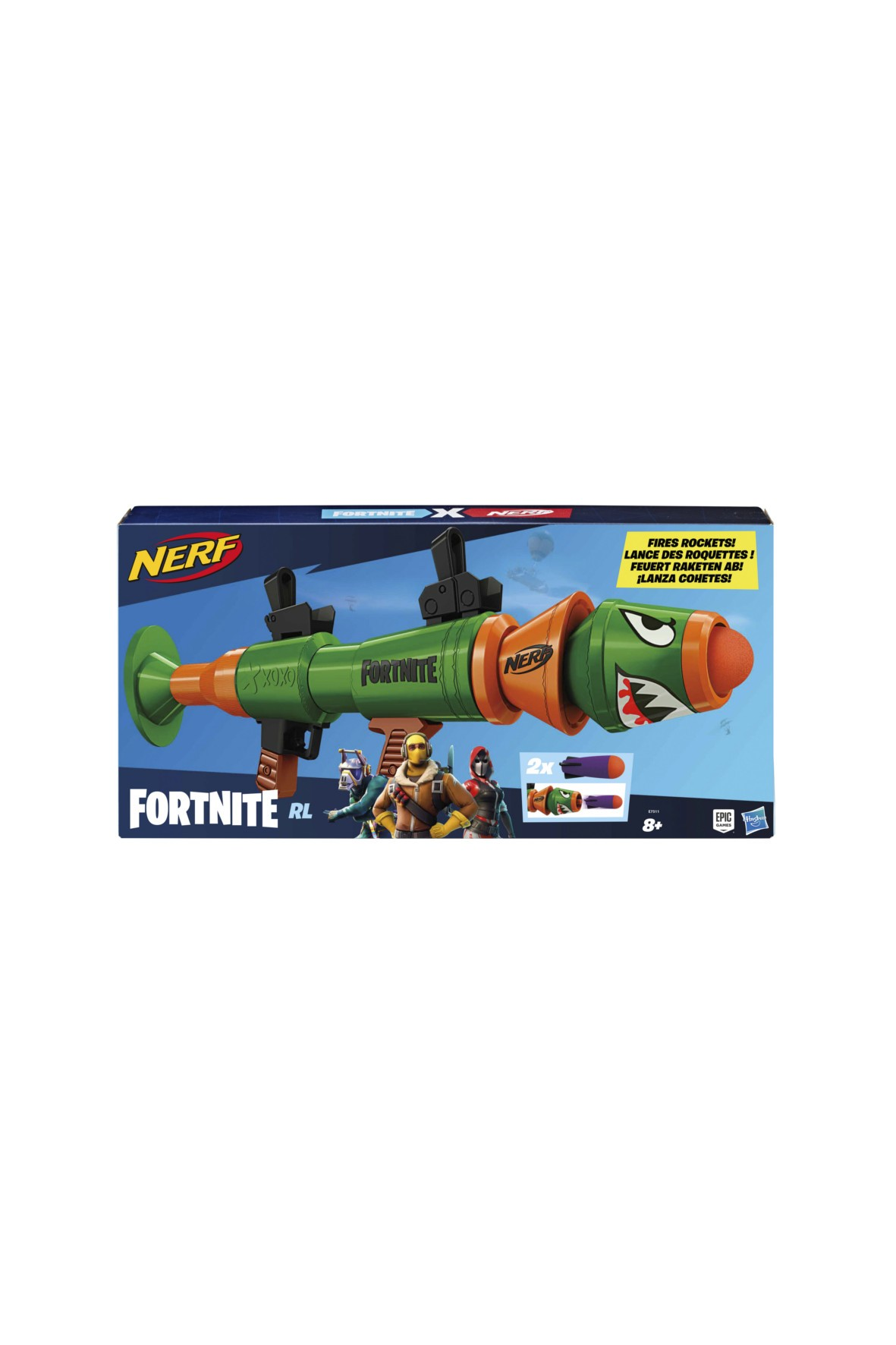 Nerf Fortnite Rusty Rocket 8+